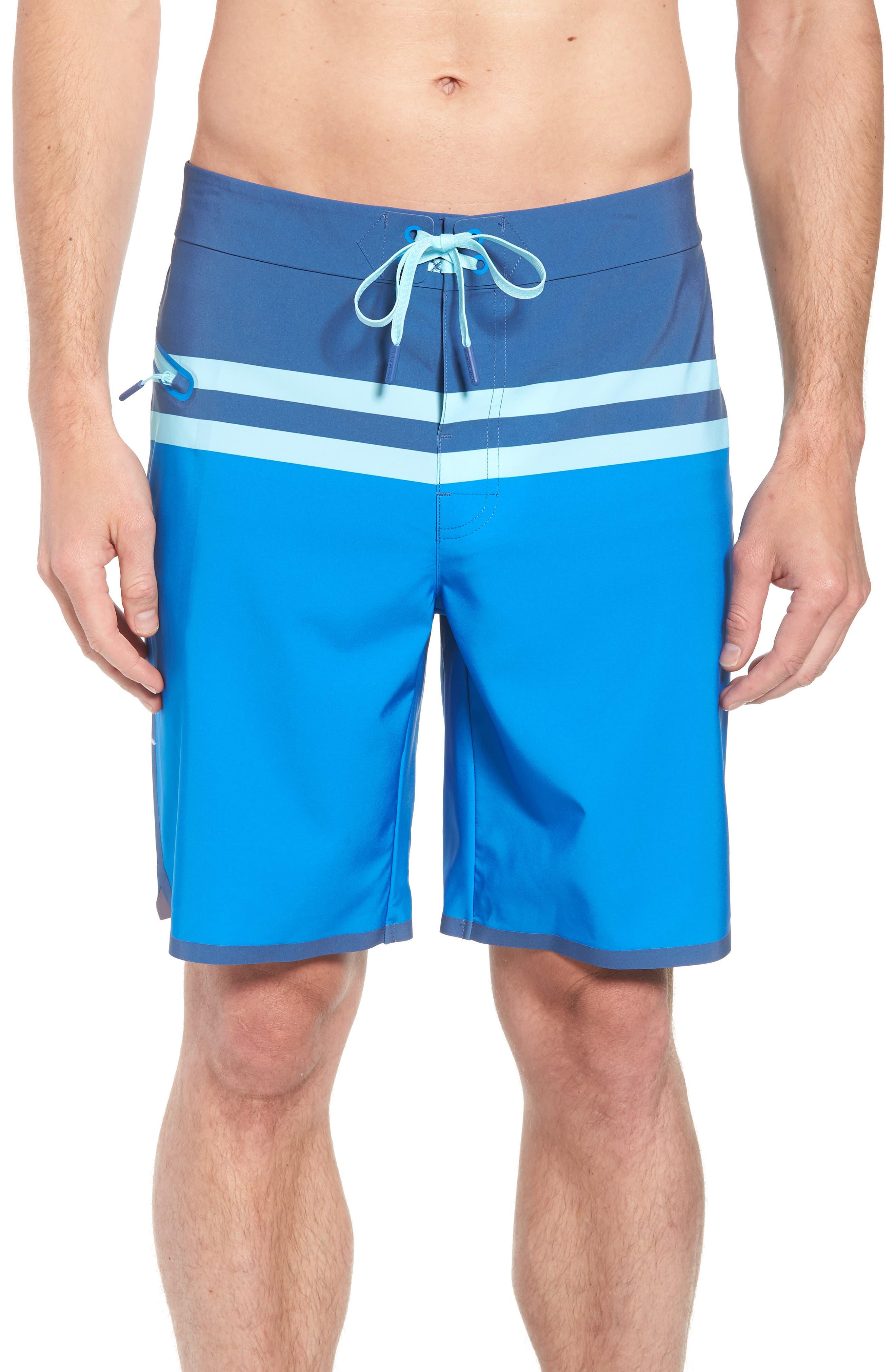 Bay Ridge Board Shorts,                         Main,                         color, Azure