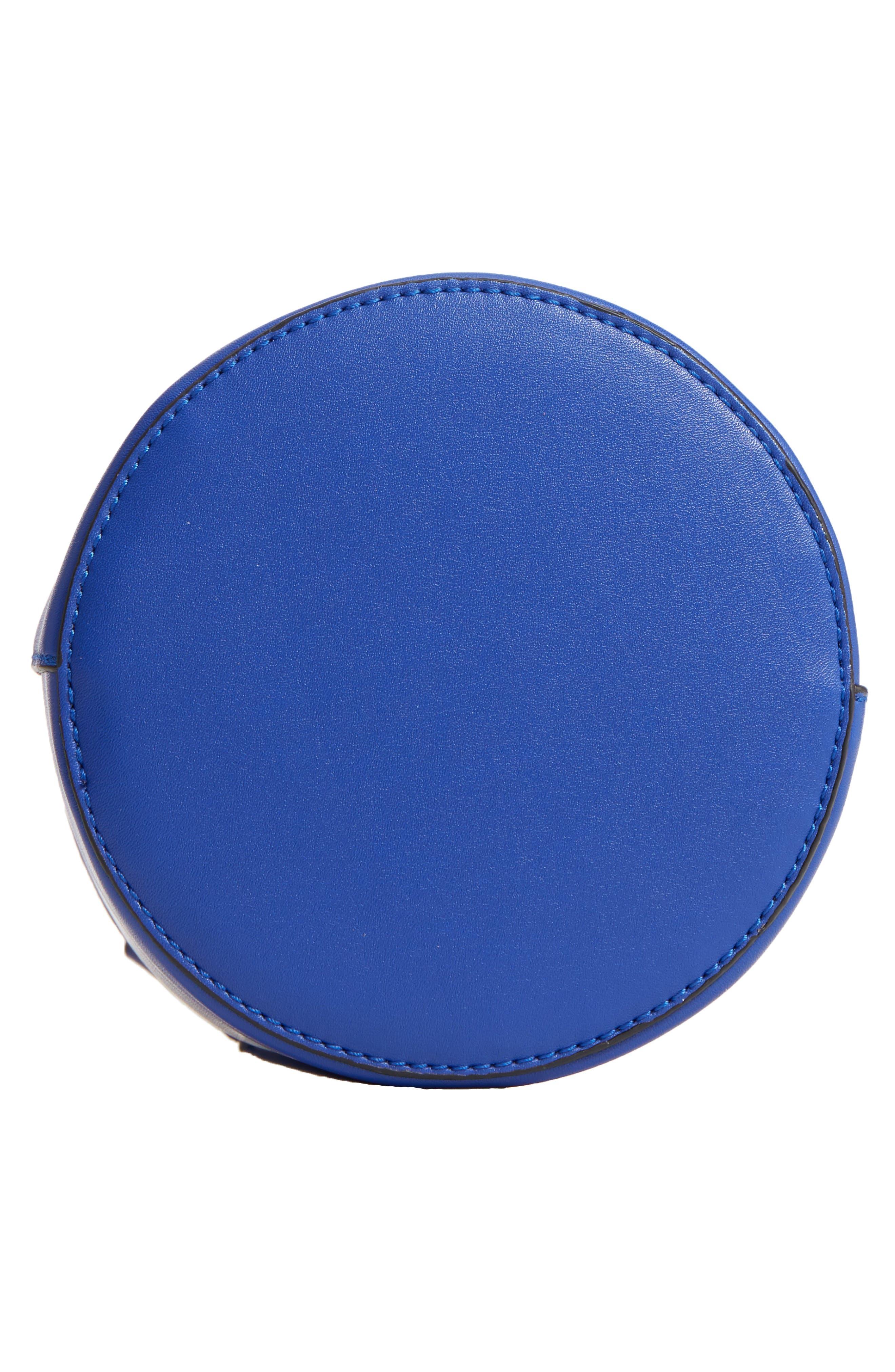 Top Handle Cylinder Bag,                             Alternate thumbnail 6, color,                             Cobalt
