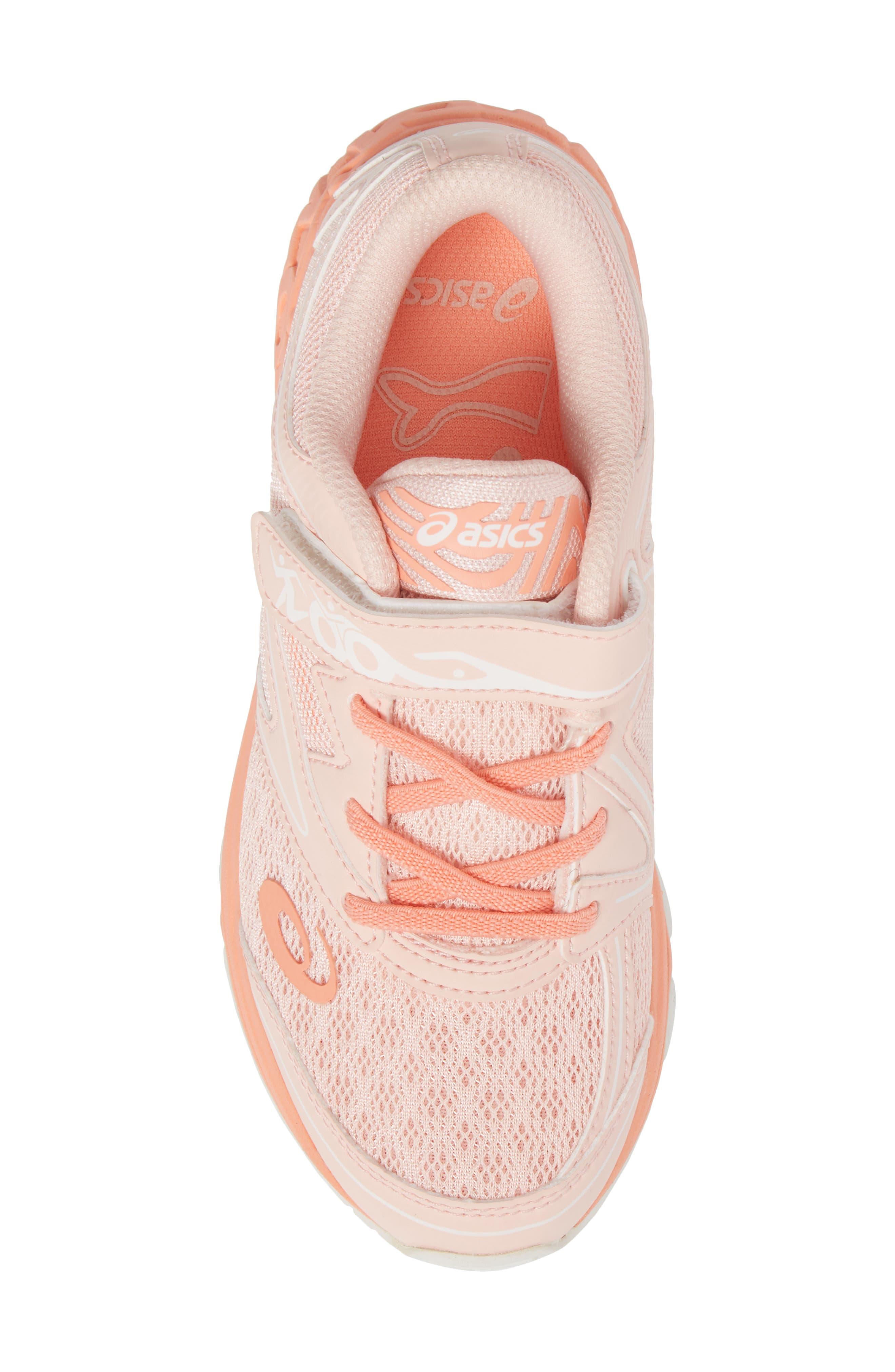 Noosa PS Sneaker,                             Alternate thumbnail 5, color,                             Seashell Pink/ Begonia/ White