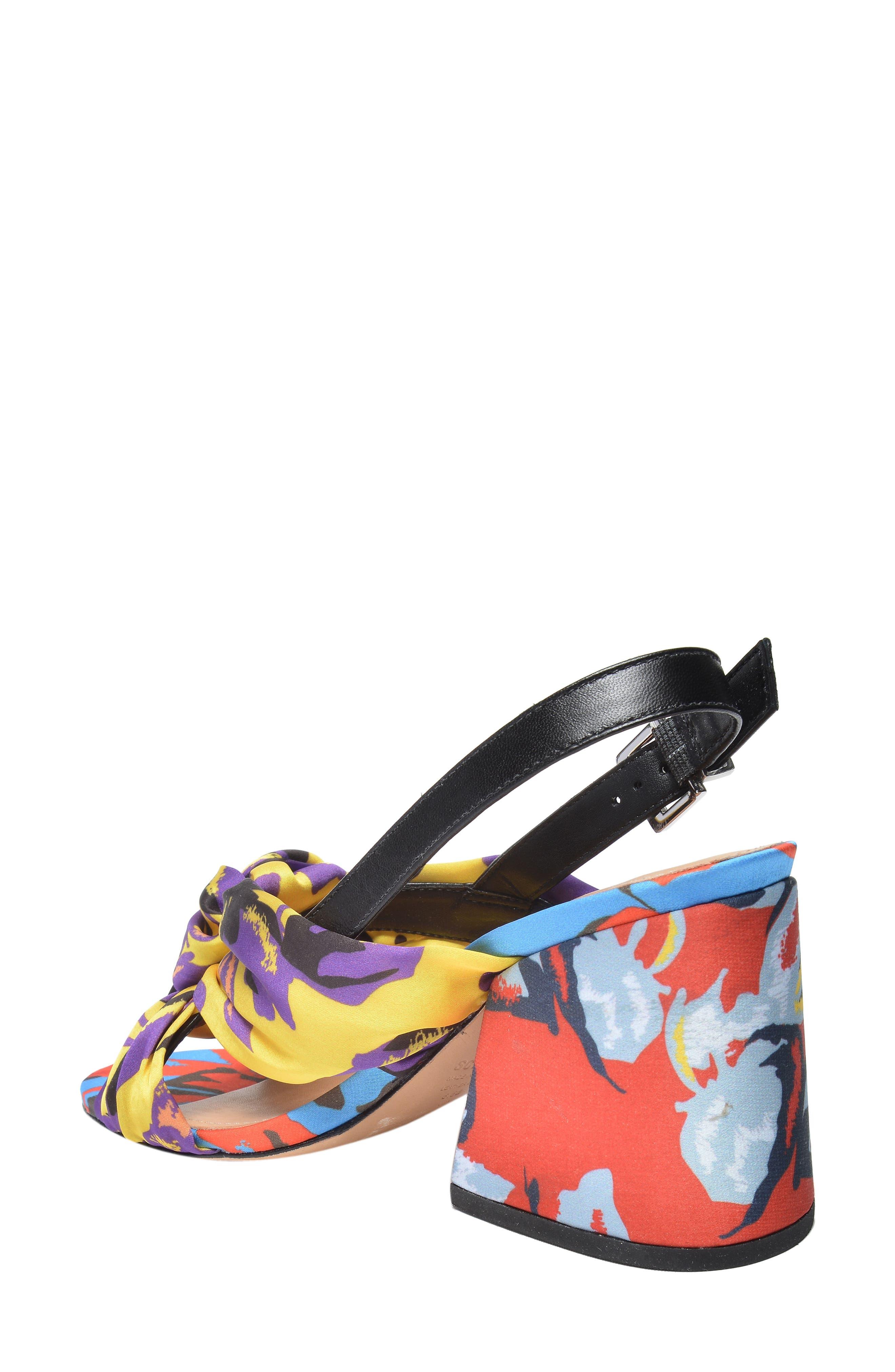 x Adriana Lima Sandal,                             Alternate thumbnail 2, color,                             Floral Print Fabric