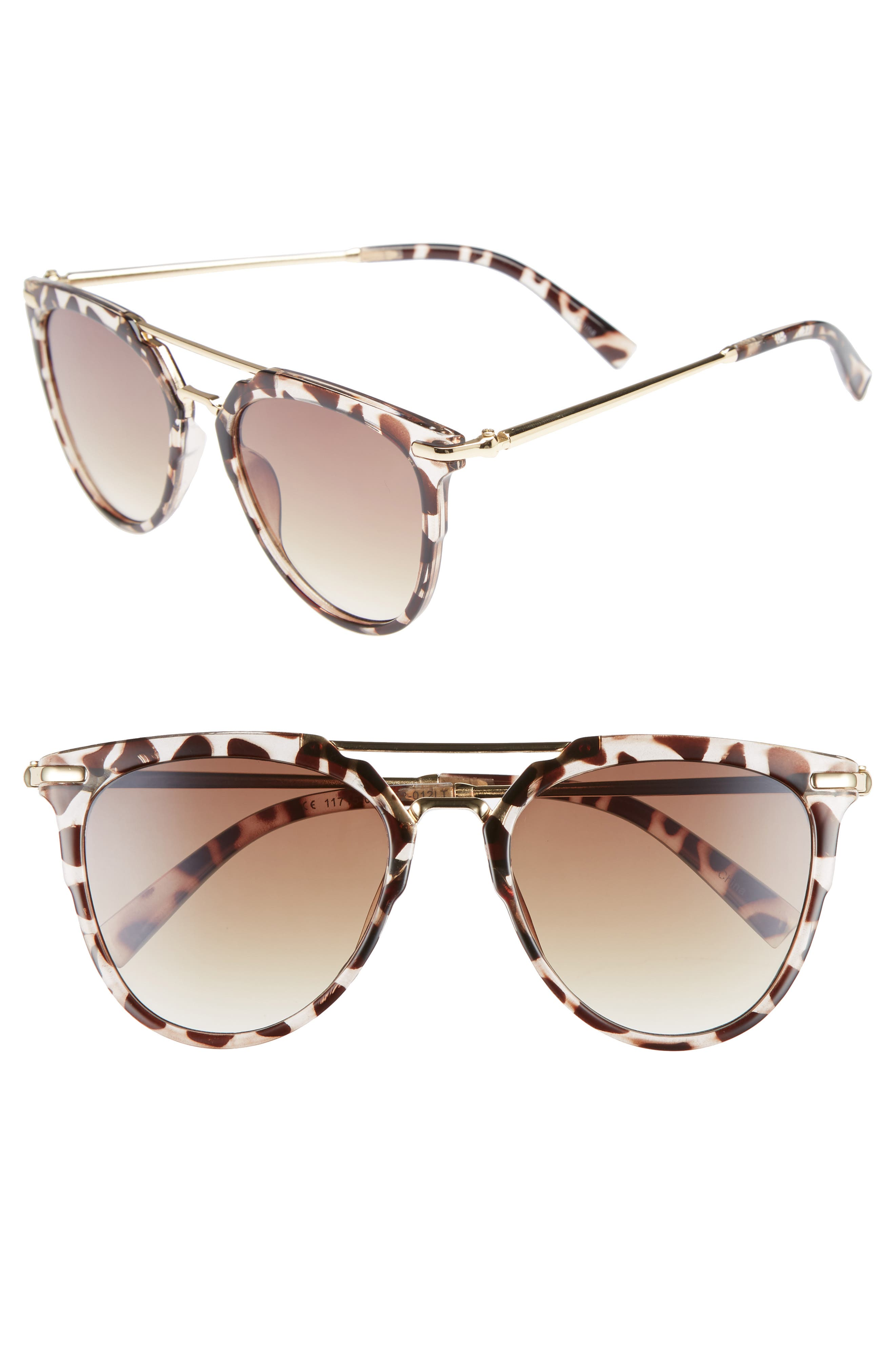 Leith 53mm Aviator Sunglasses