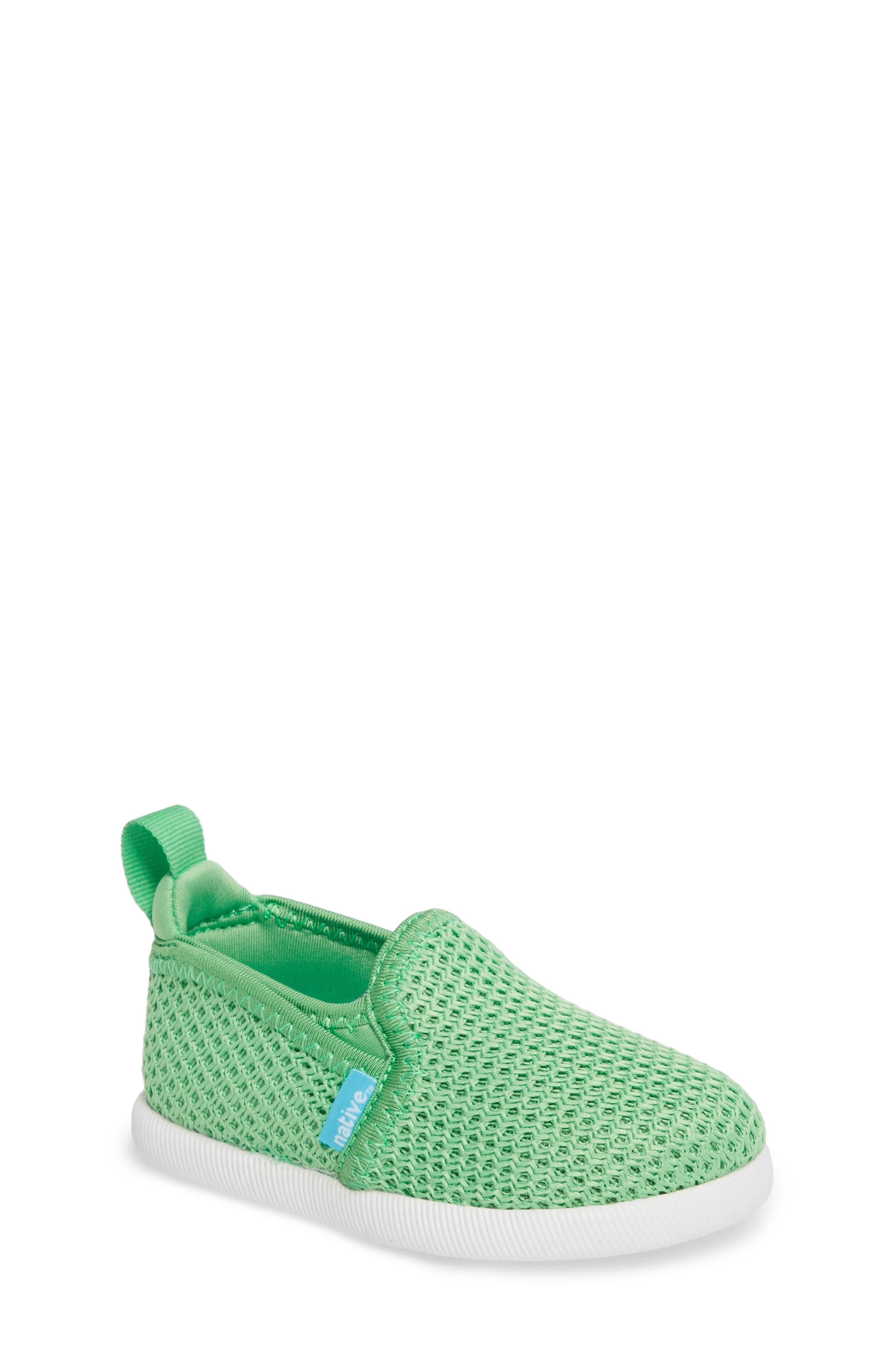 Alternate Image 1 Selected - Native Shoes Cruz Woven Slip-On (Walker, Toddler & Little Kid)