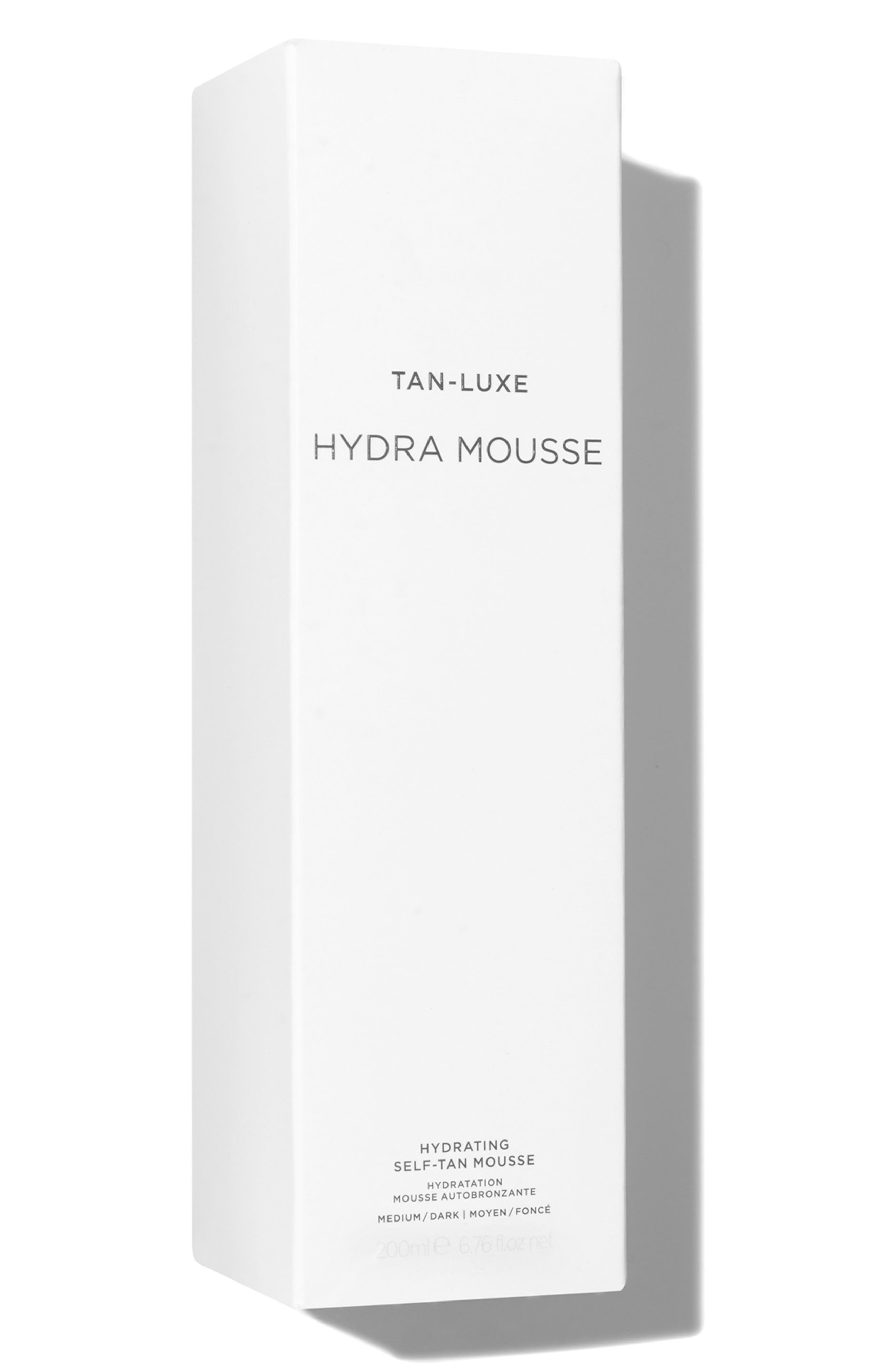 SPACE.NK.apothecary TAN-LUXE Hydra Mousse Hydrating Self-Tan Mousse,                             Alternate thumbnail 4, color,                             Medium/Dark