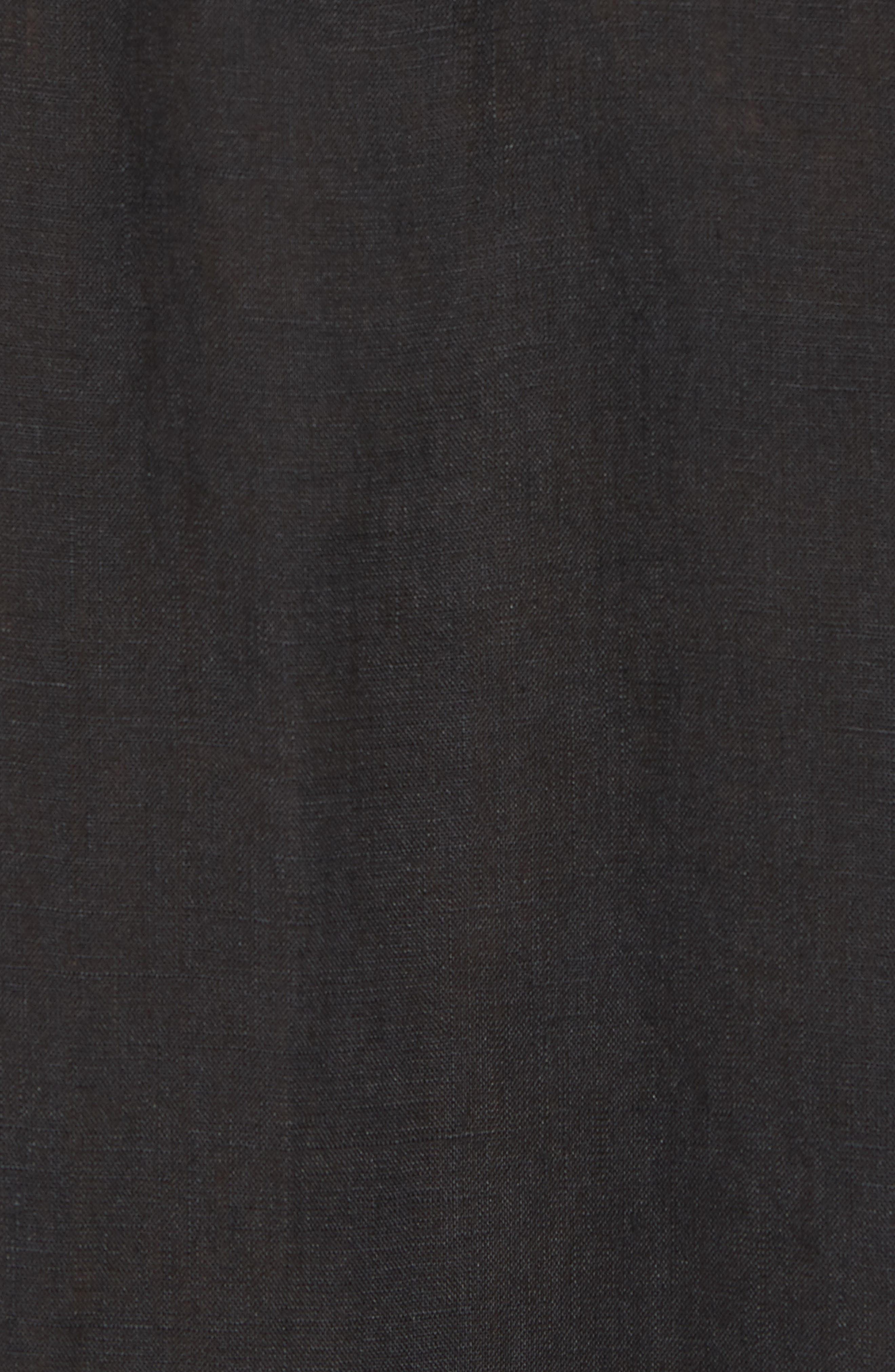 Classic Fit Sport Shirt,                             Alternate thumbnail 5, color,                             Black