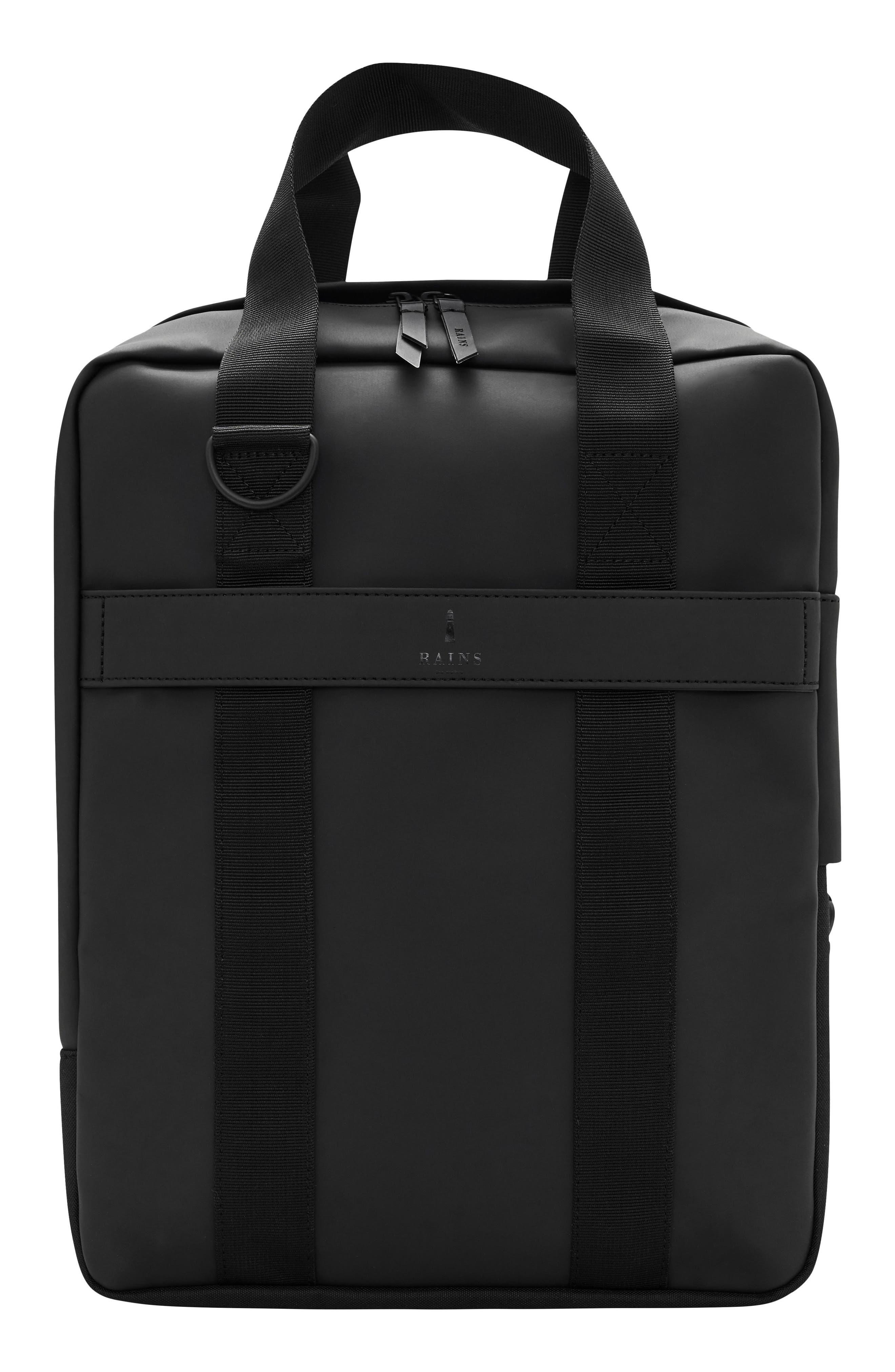 Waterproof Utility Tote Bag,                         Main,                         color, Black