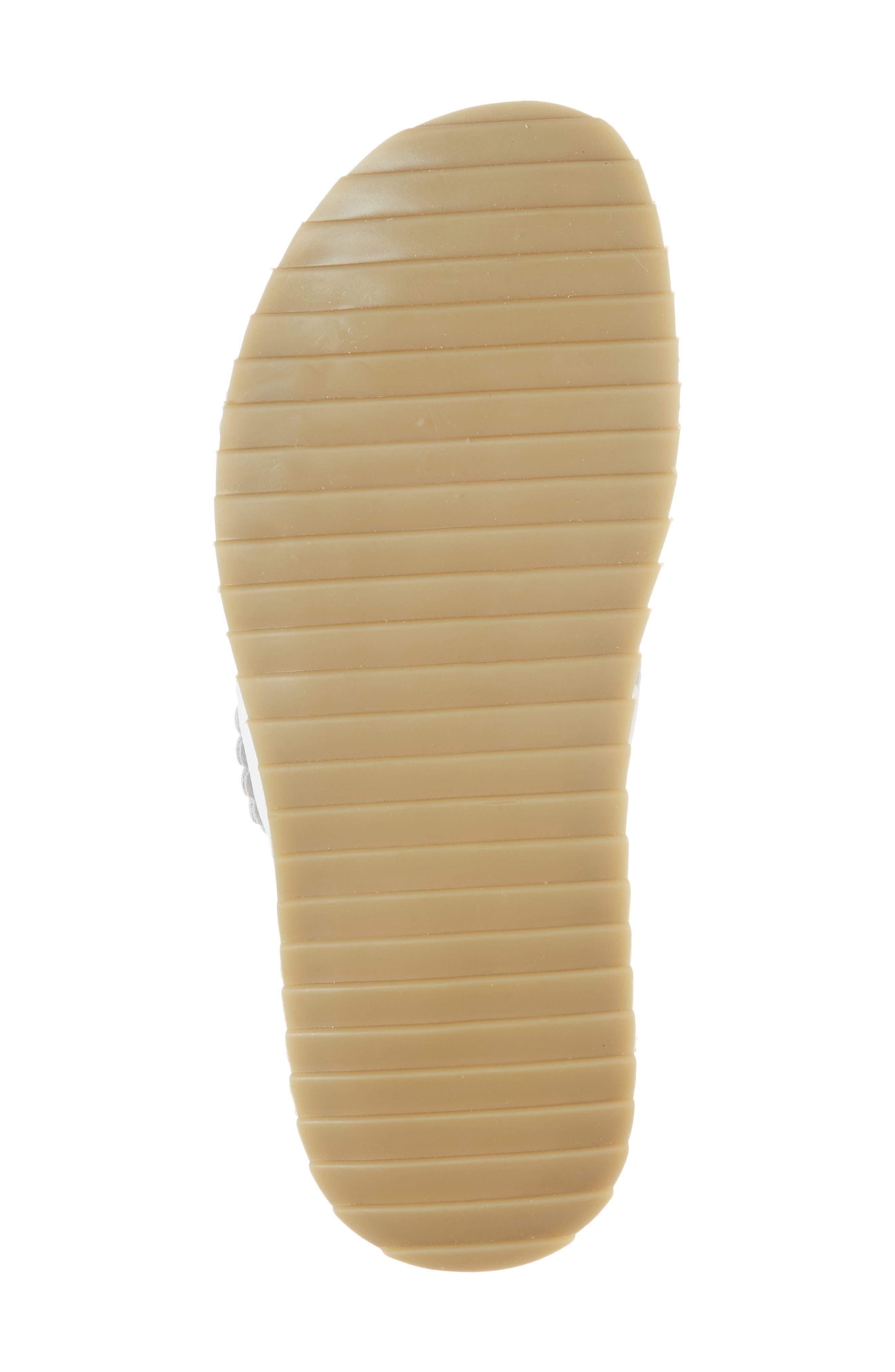 Spellbound Embellished Slide Sandal,                             Alternate thumbnail 6, color,                             White