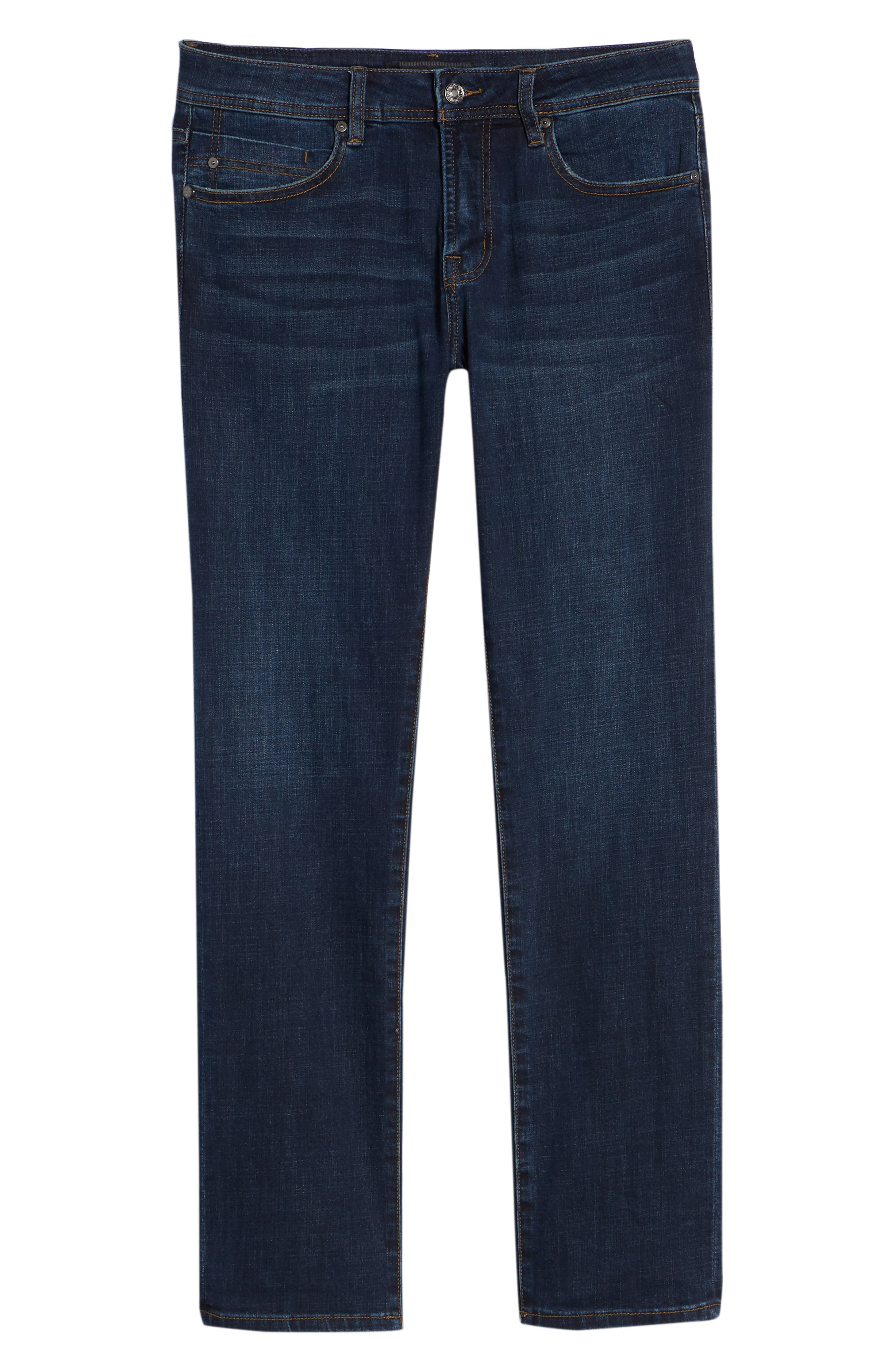 Relaxed Fit Jeans,                             Alternate thumbnail 6, color,                             Navajo Dark