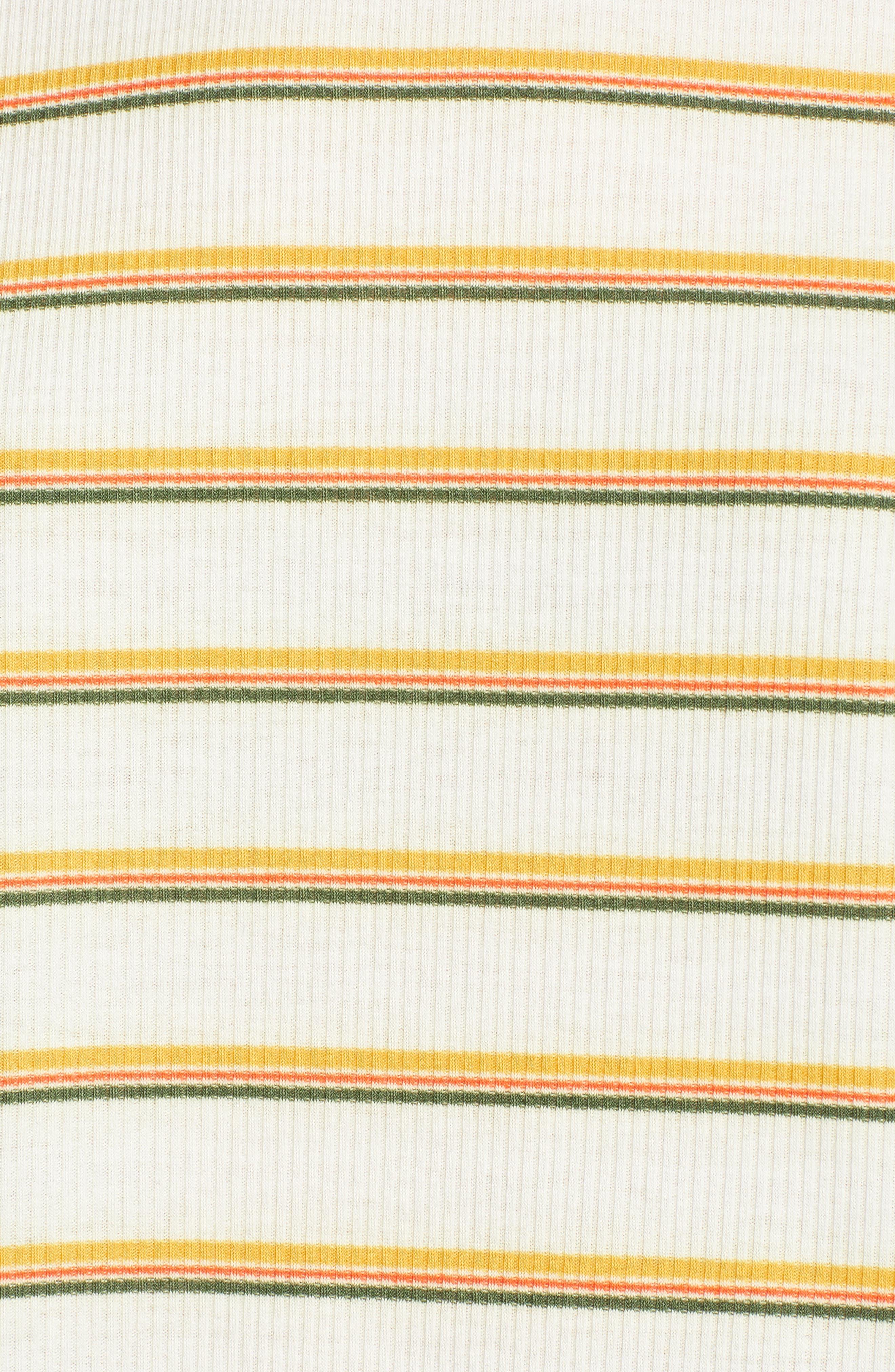 Ringer Tee,                             Alternate thumbnail 5, color,                             Stripe