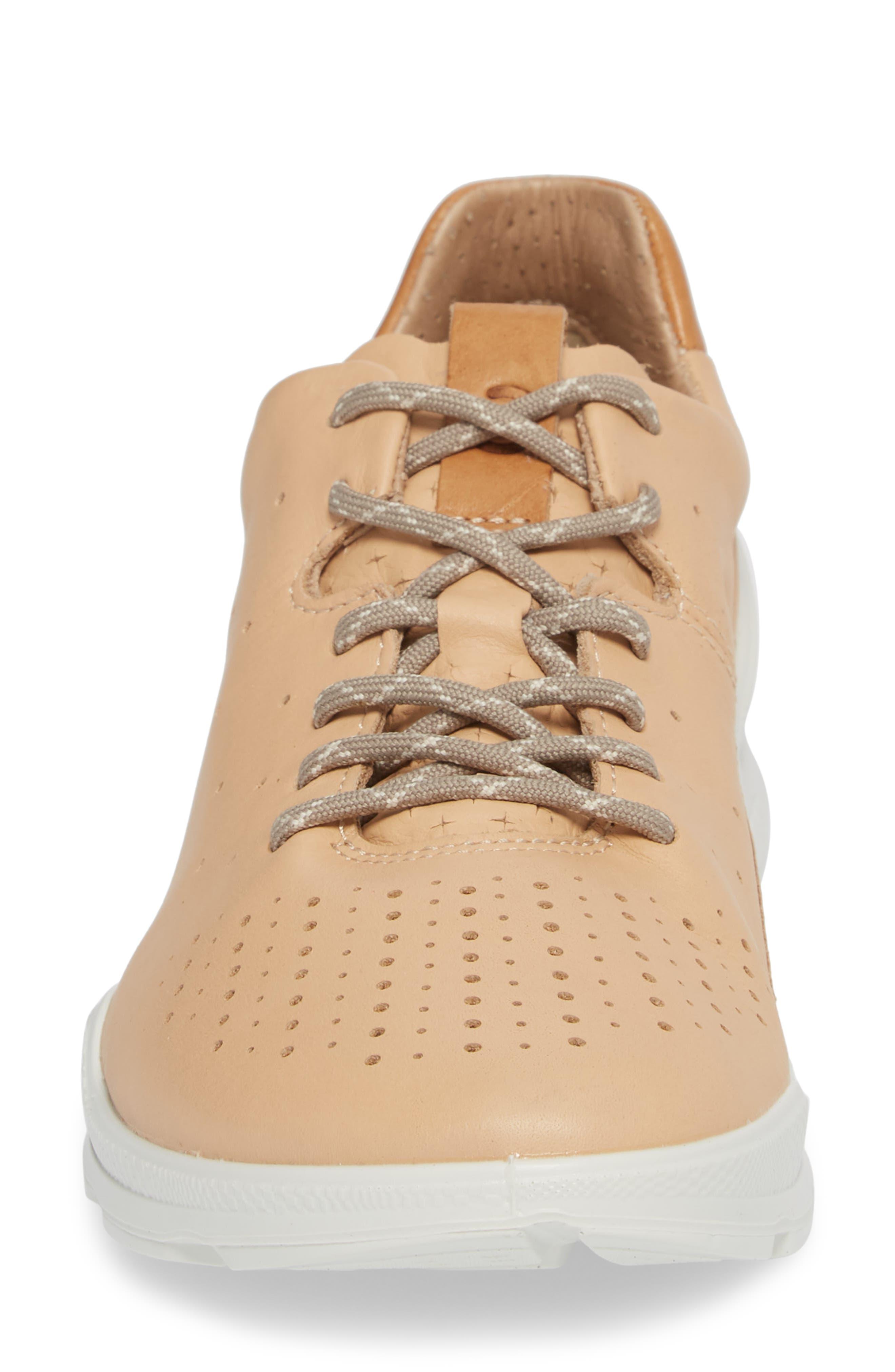 Biom Street Sneaker,                             Alternate thumbnail 4, color,                             Powder Leather