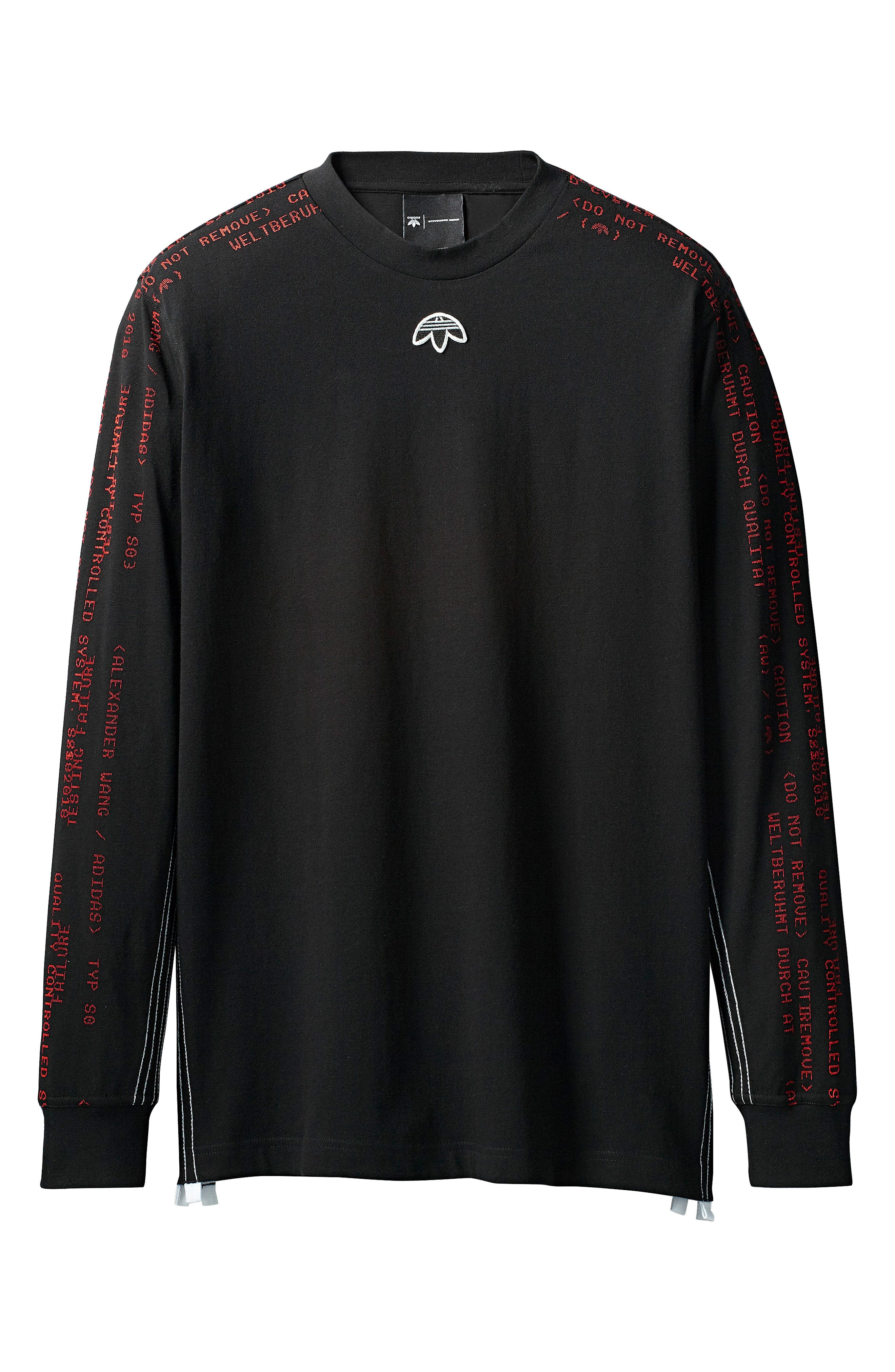 Tee,                             Alternate thumbnail 7, color,                             Black/ Core Red