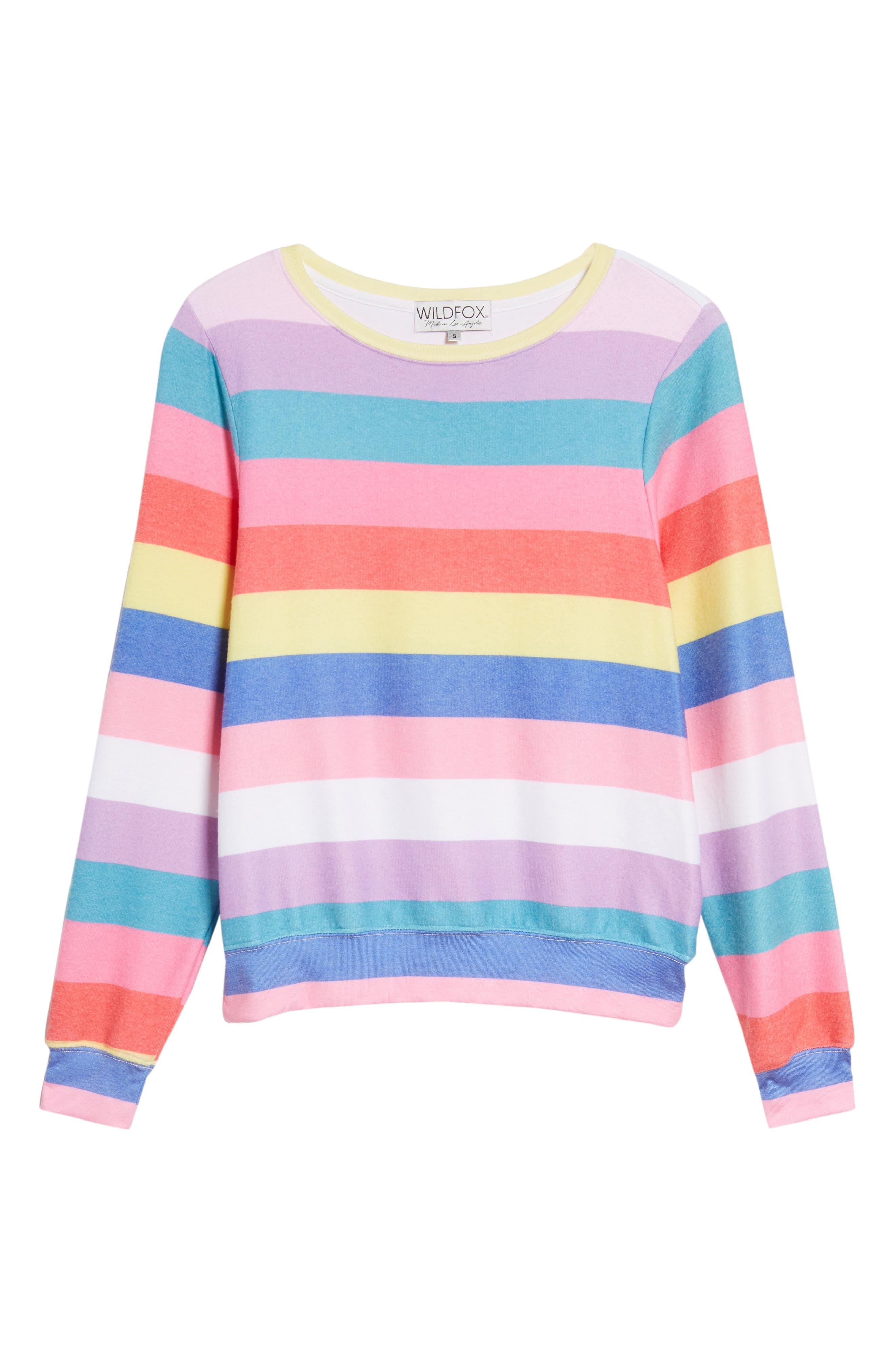 Castaway Roadtrip Sweatshirt,                             Alternate thumbnail 6, color,                             Multi Colored