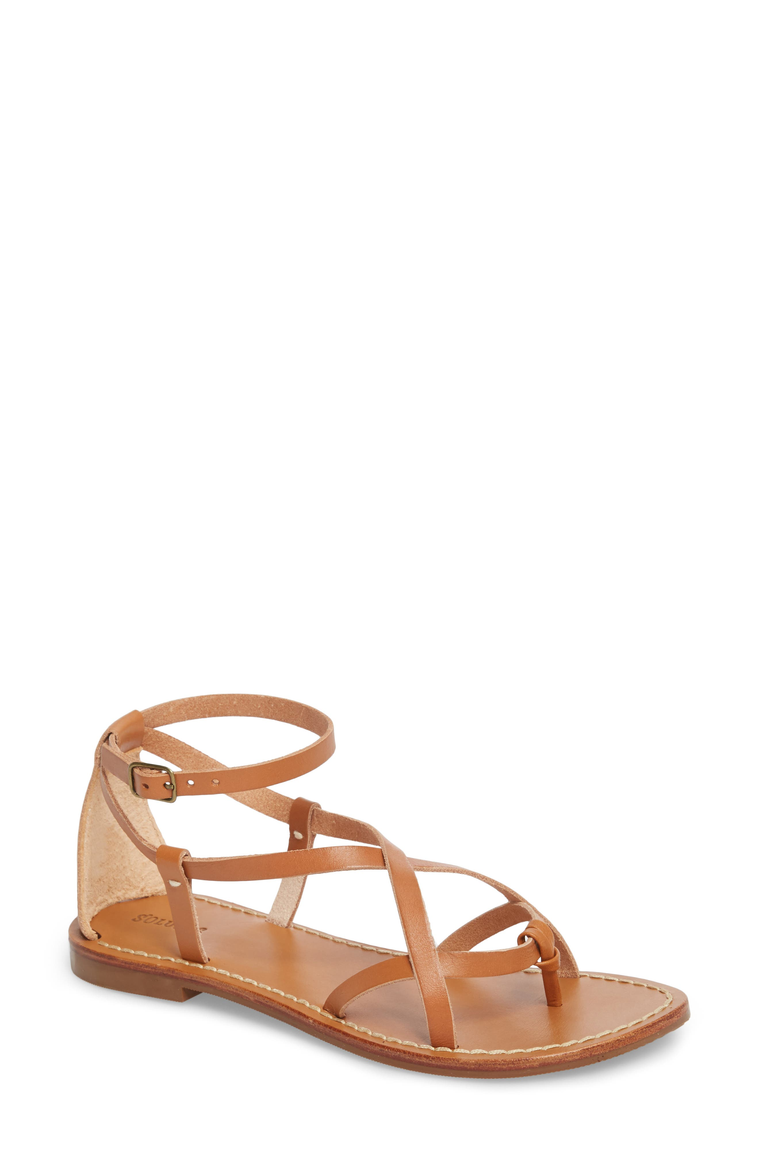 Amalfi Strappy Sandal,                         Main,                         color, Nude