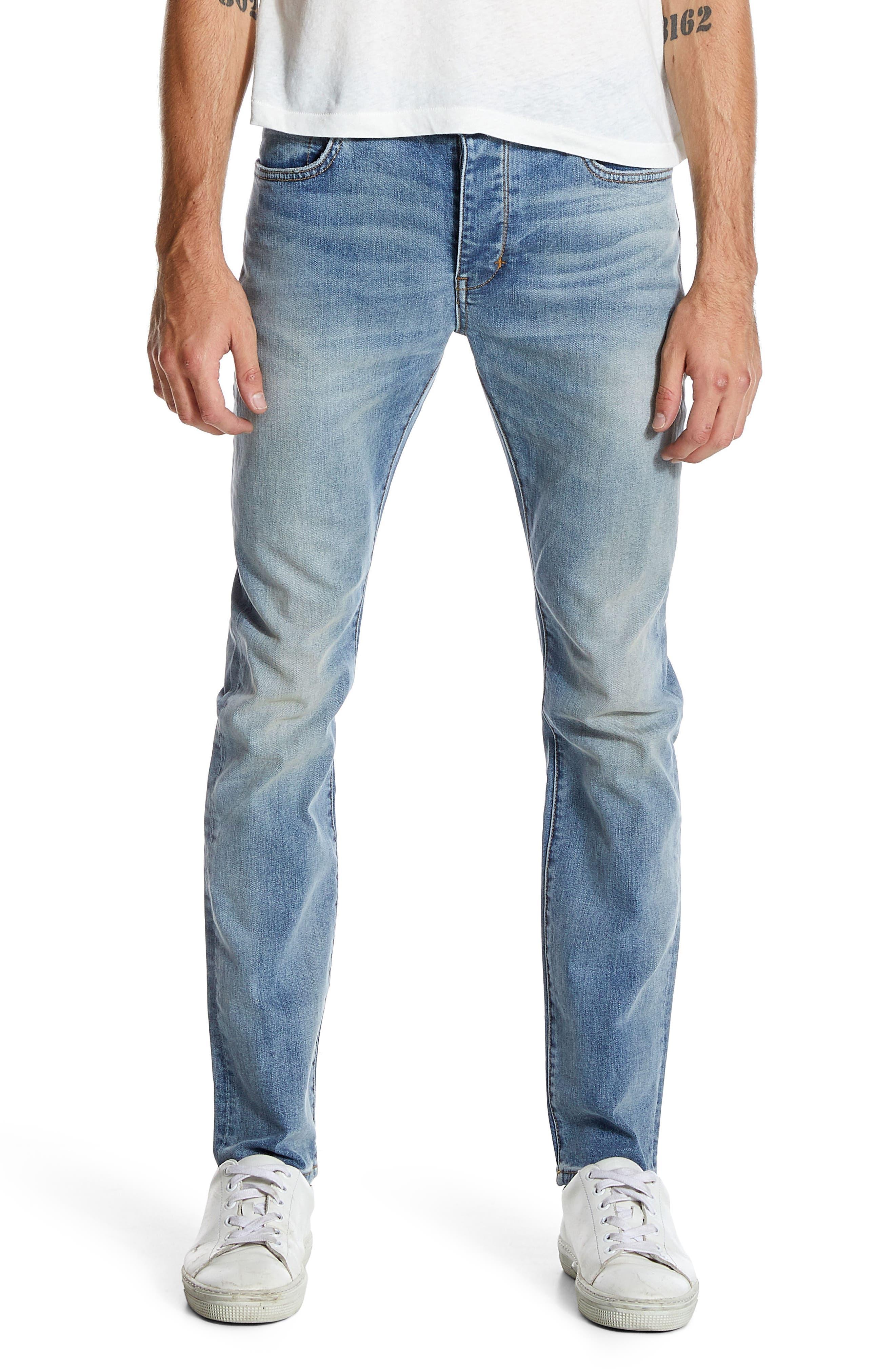 Iggy Skinny Fit Jeans,                             Main thumbnail 1, color,                             Atomic Airwash