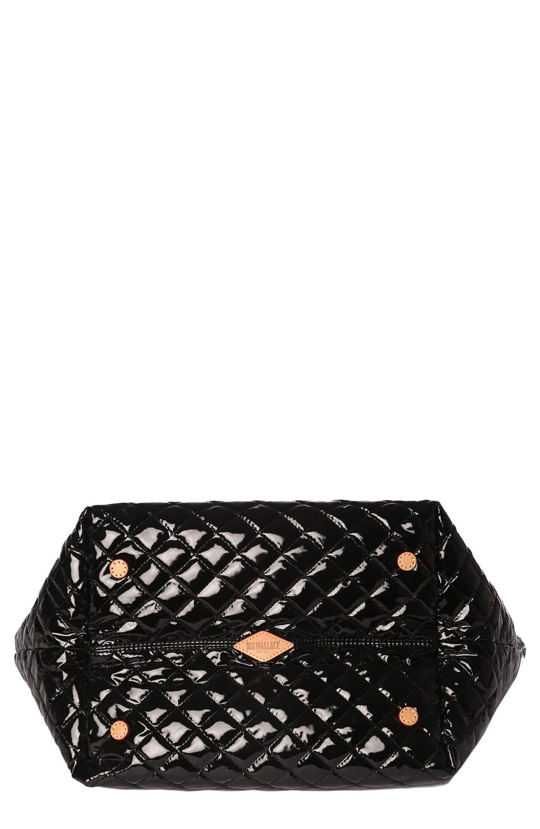 Alternate Image 6  - MZ Wallace 'Medium Metro' Quilted Lacquer Tote