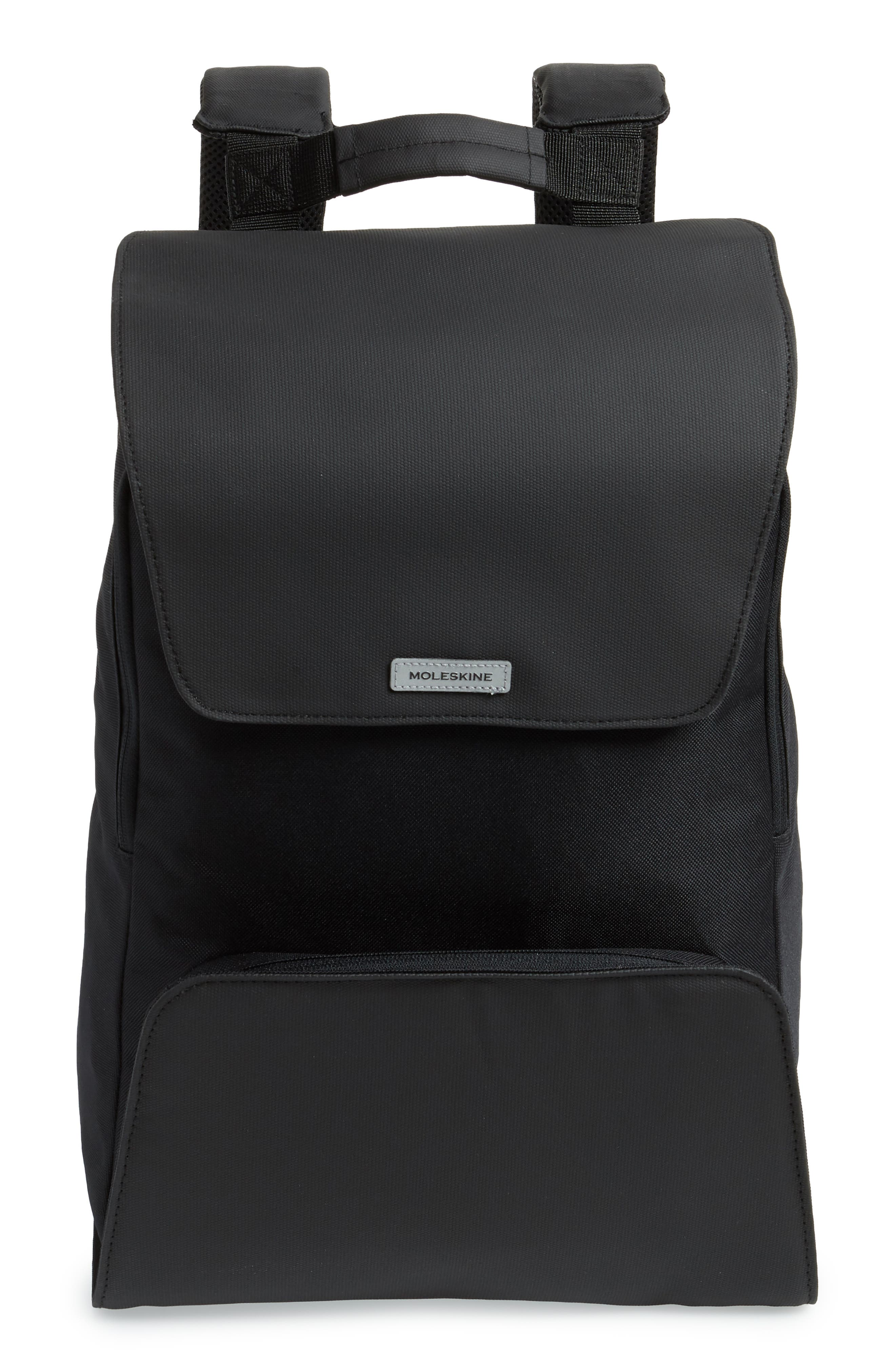 Nomad Water Resistant Backpack,                             Main thumbnail 1, color,                             Black