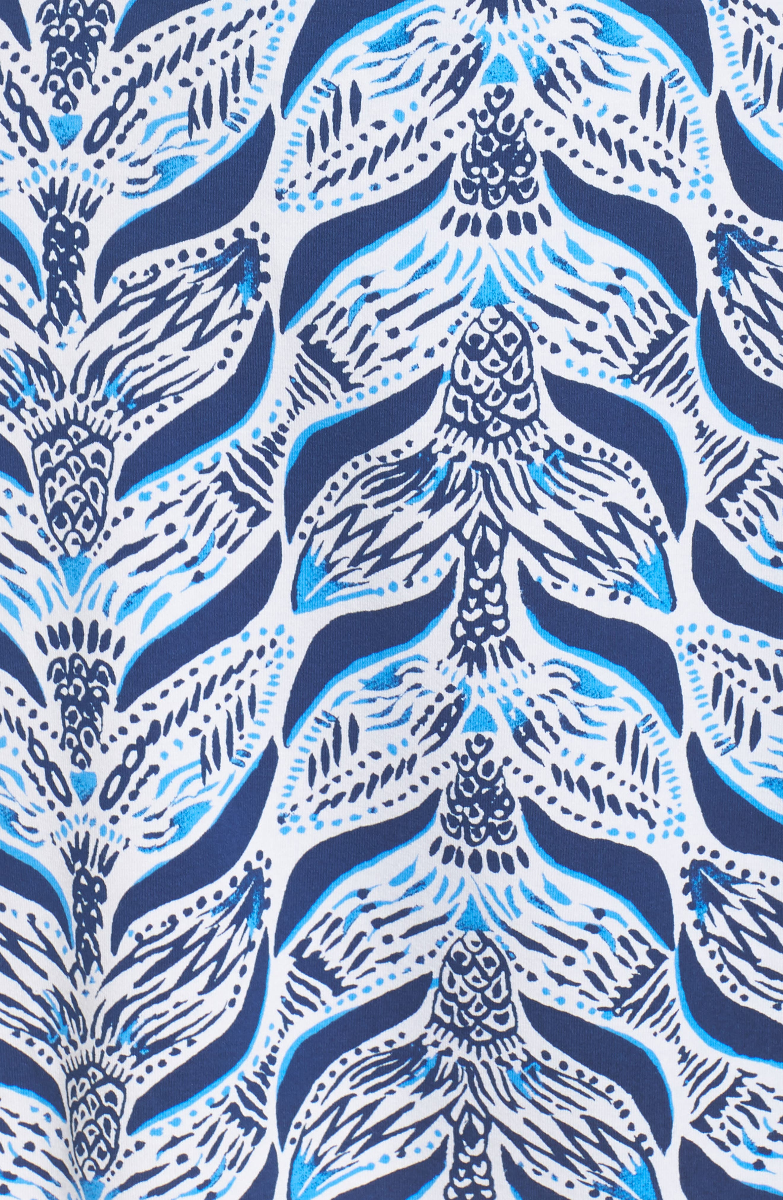 Karlie Wrap Style Romper,                             Alternate thumbnail 5, color,                             Resort White A Mermaids Tail