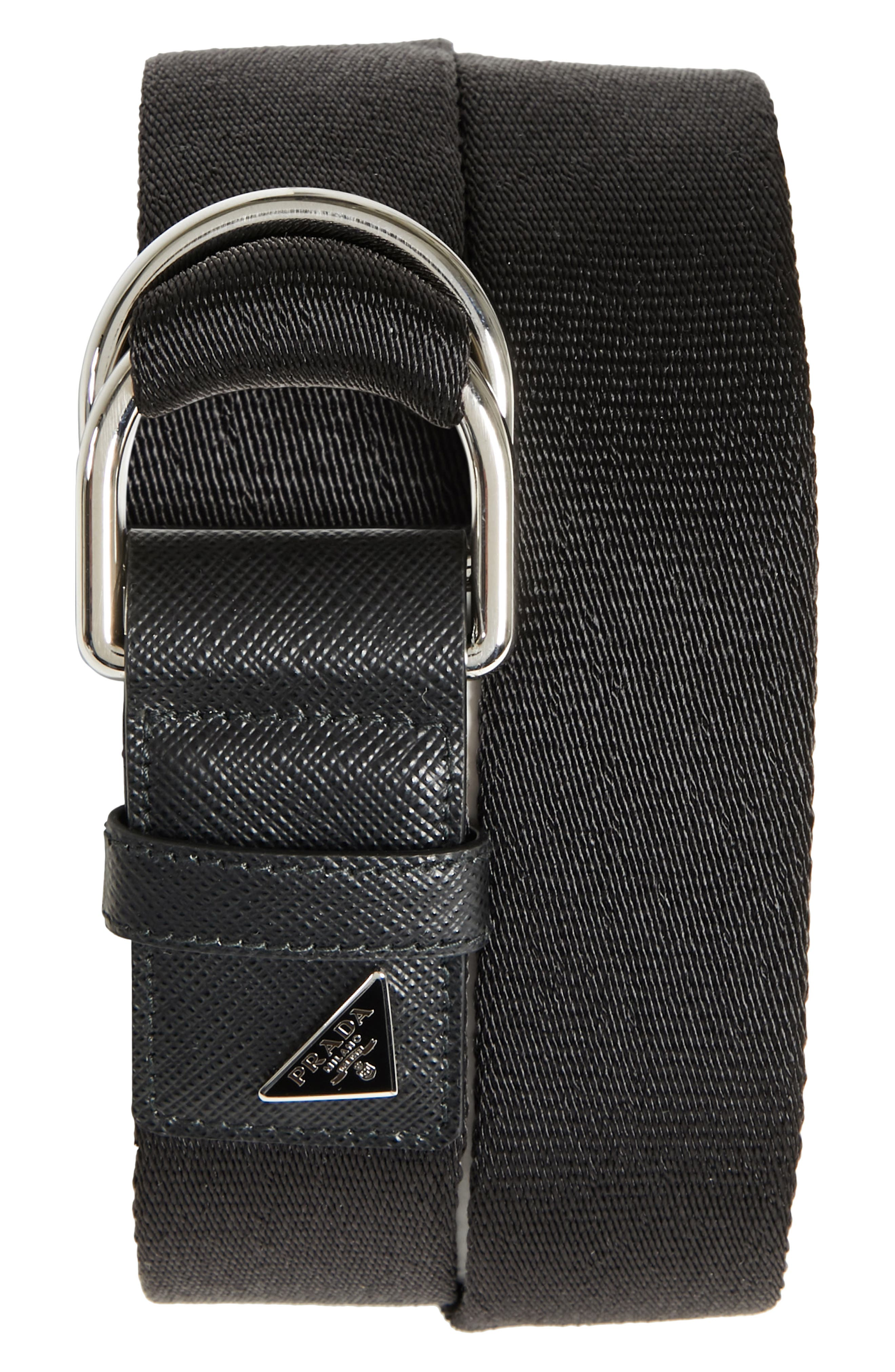 Prada Nastro Woven Belt