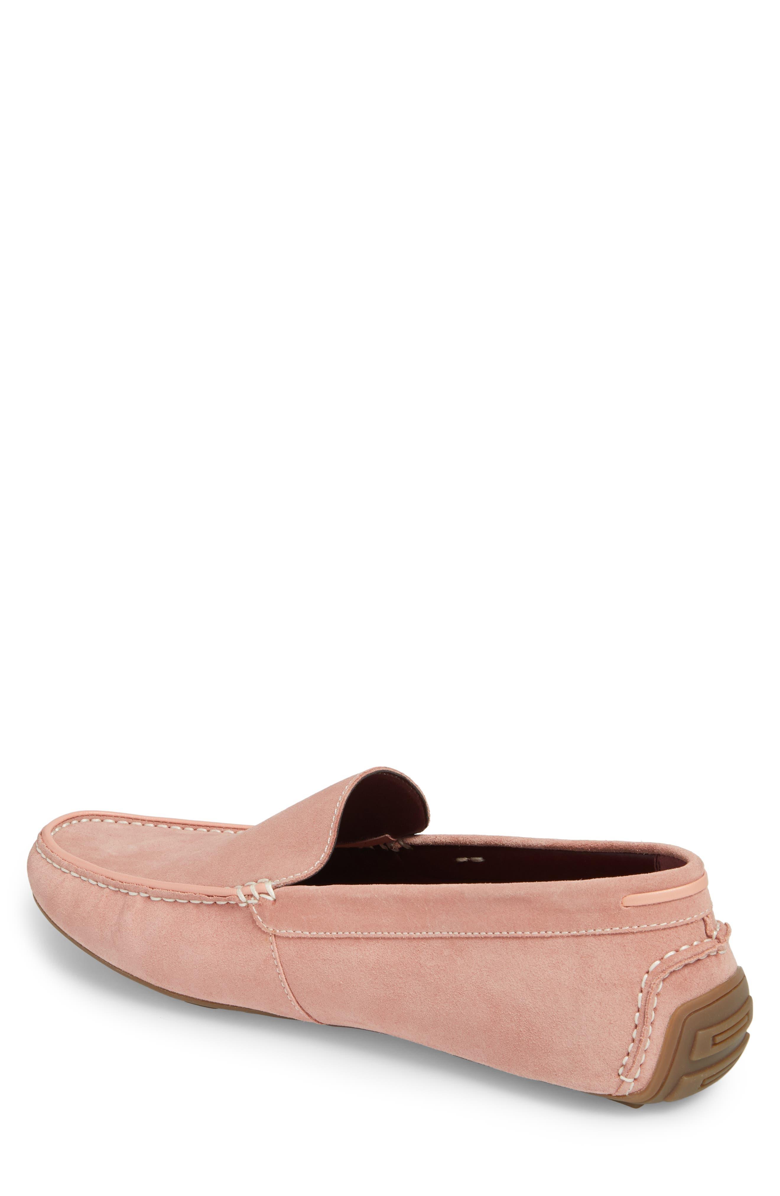 Leroy Driver Shoe,                             Alternate thumbnail 2, color,                             Blush