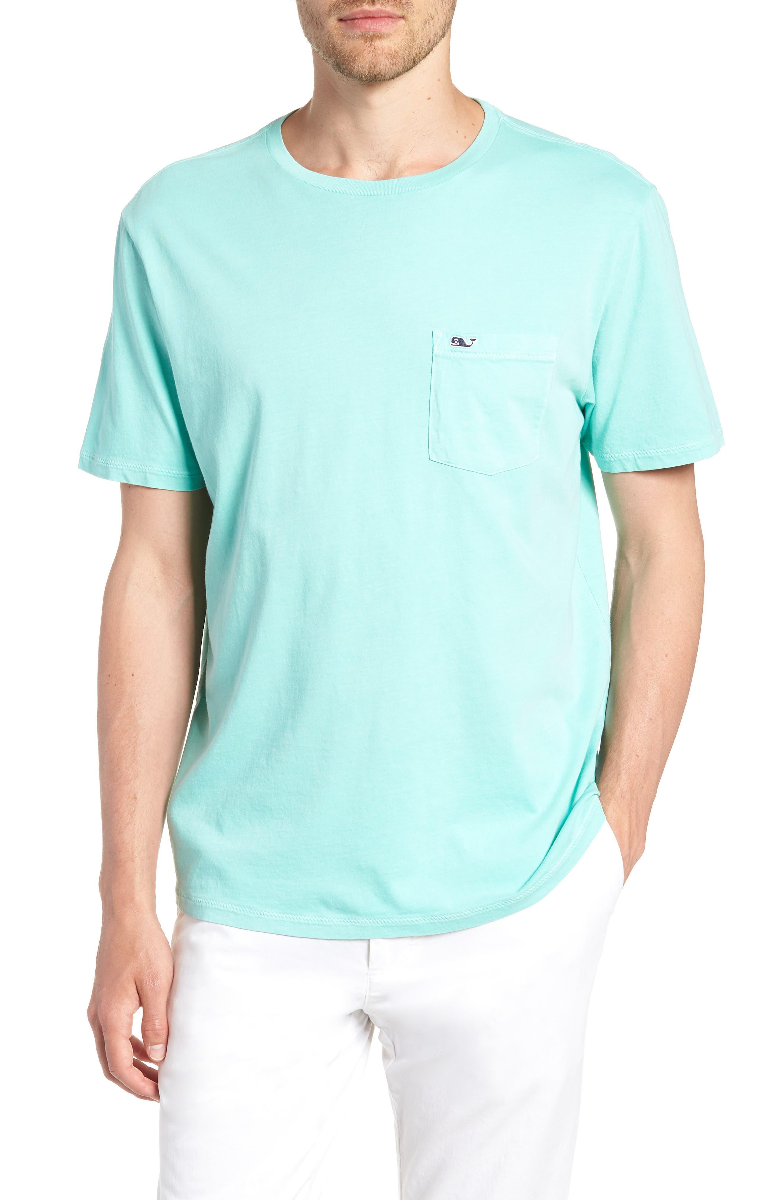 Dockside Regular Fit Crewneck T-Shirt,                             Main thumbnail 1, color,                             Capri Blue
