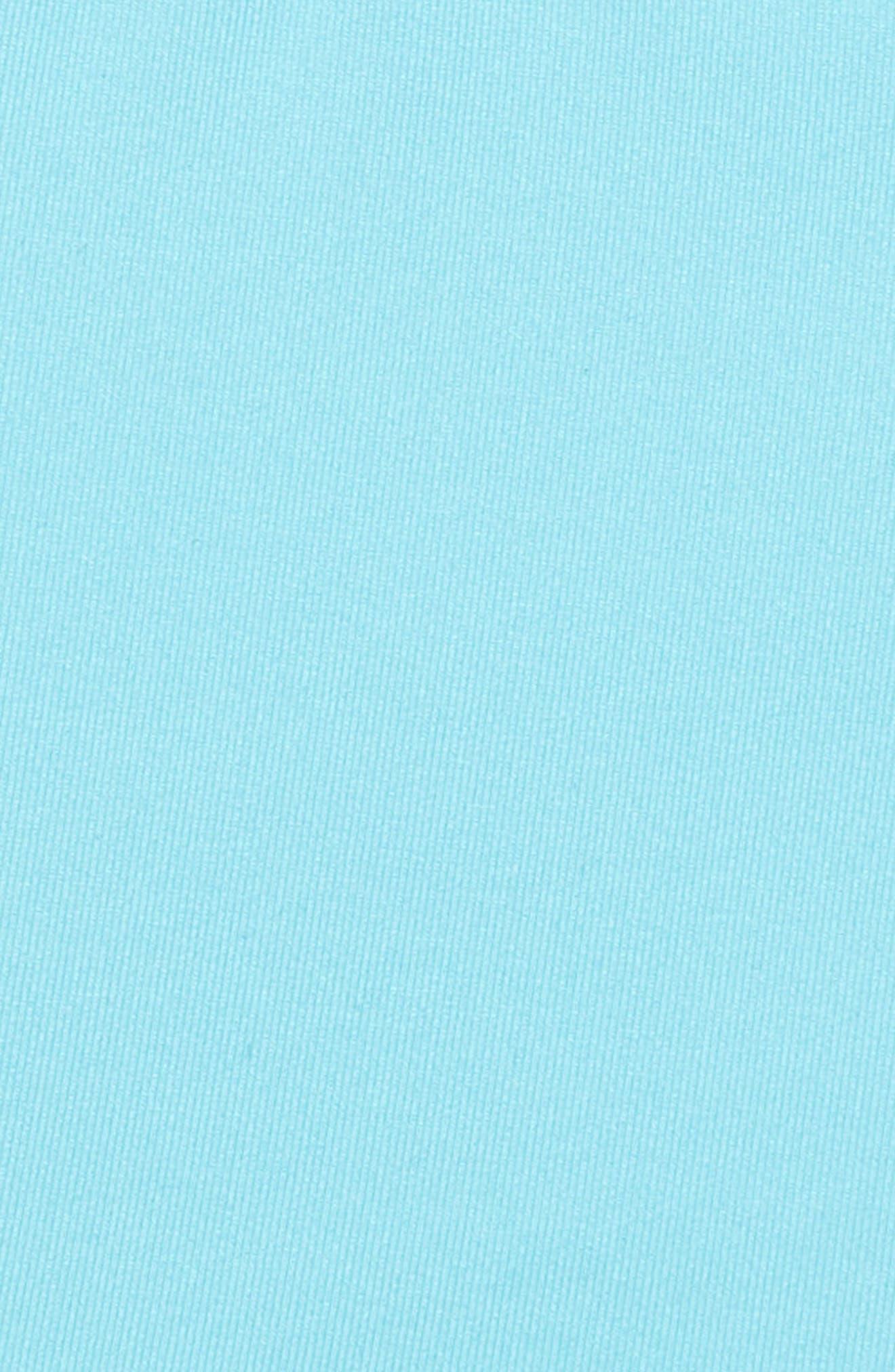Strappy Mini Bralette,                             Alternate thumbnail 2, color,                             Teal Blue