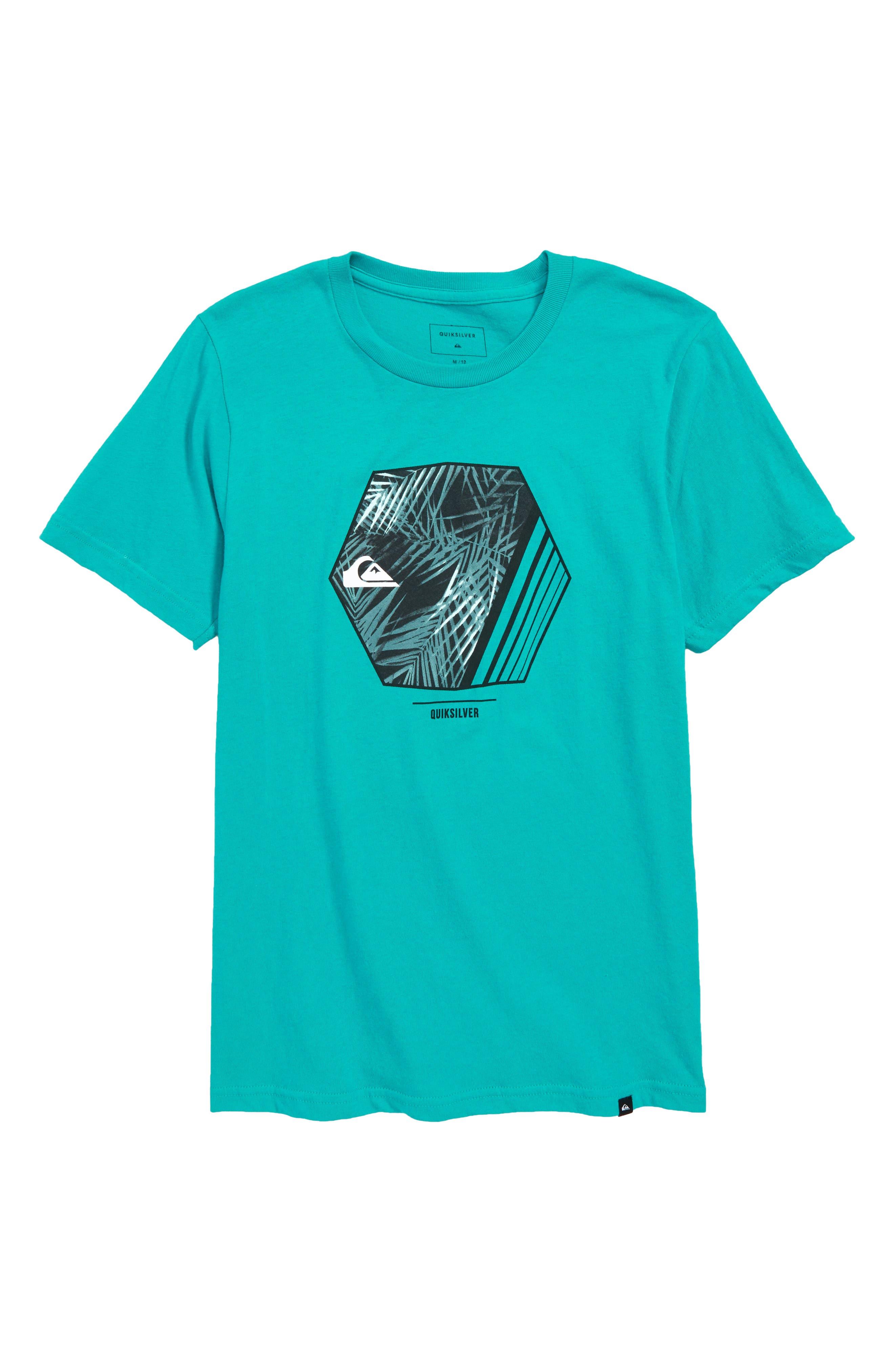 Wild Vision Graphic T-Shirt,                             Main thumbnail 1, color,                             Tropic Green