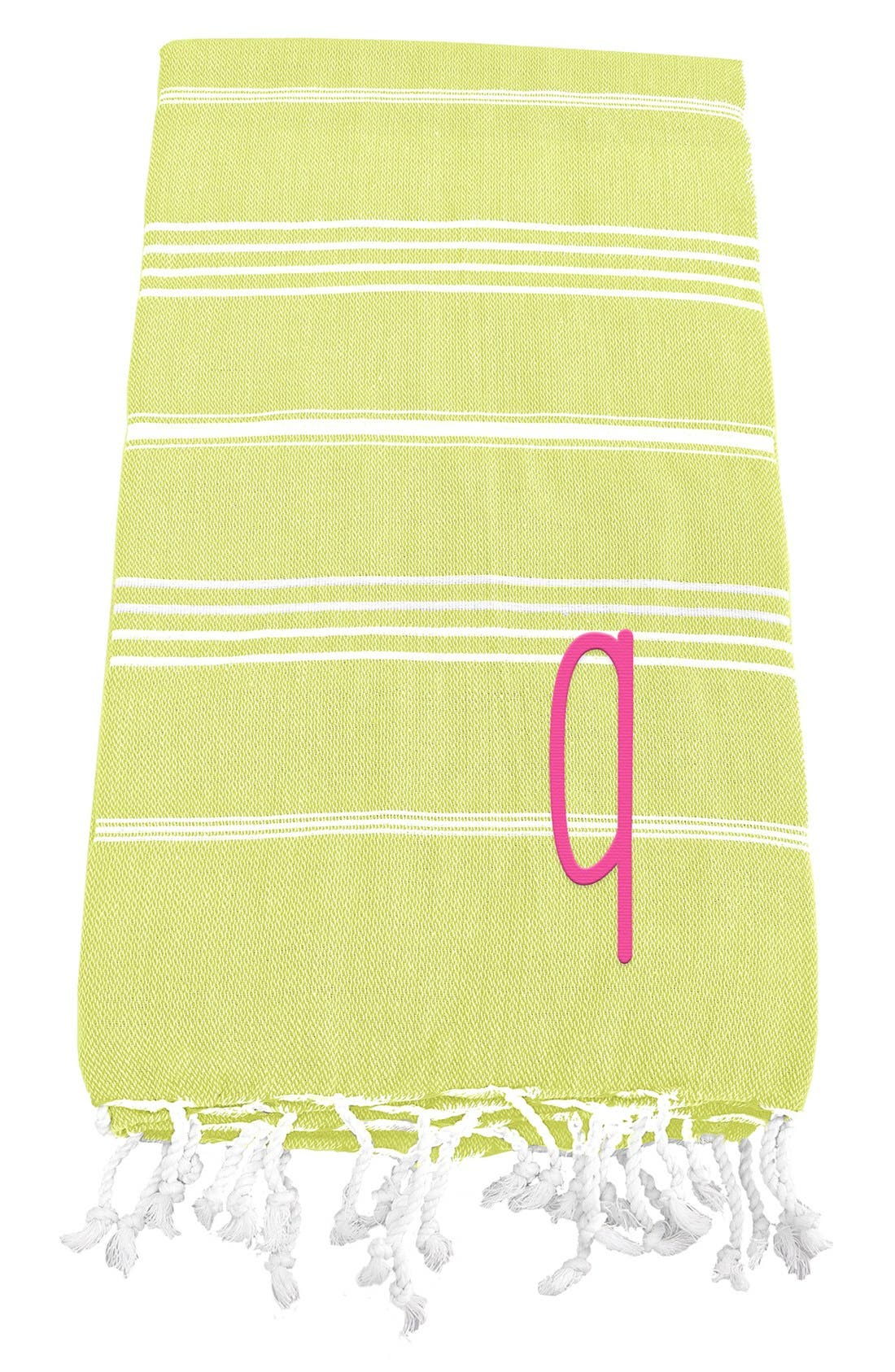 Cathy's Concepts Monogram Turkish Cotton Towel
