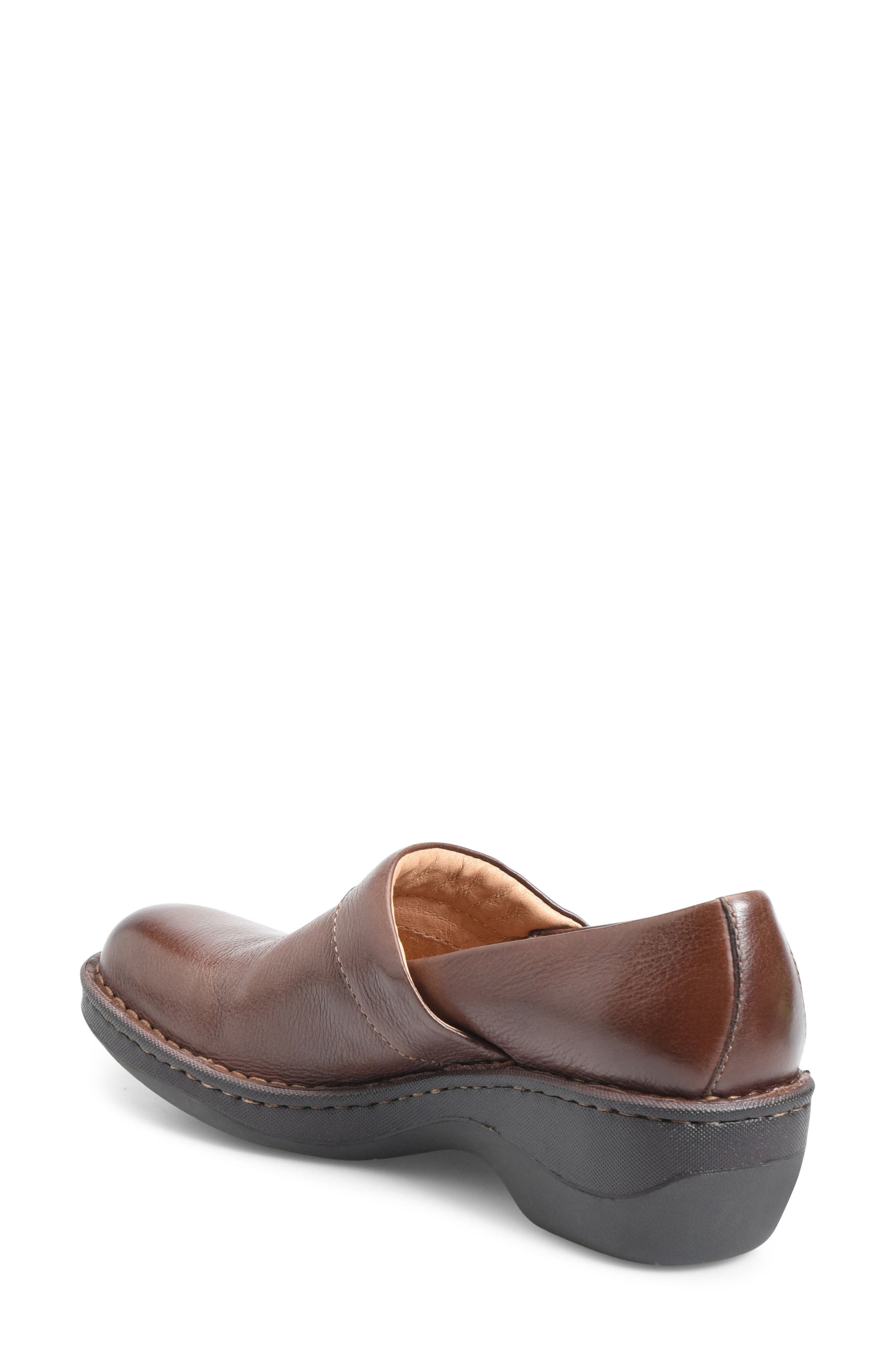 Toby Duo Clog,                             Alternate thumbnail 2, color,                             Chocolate Leather