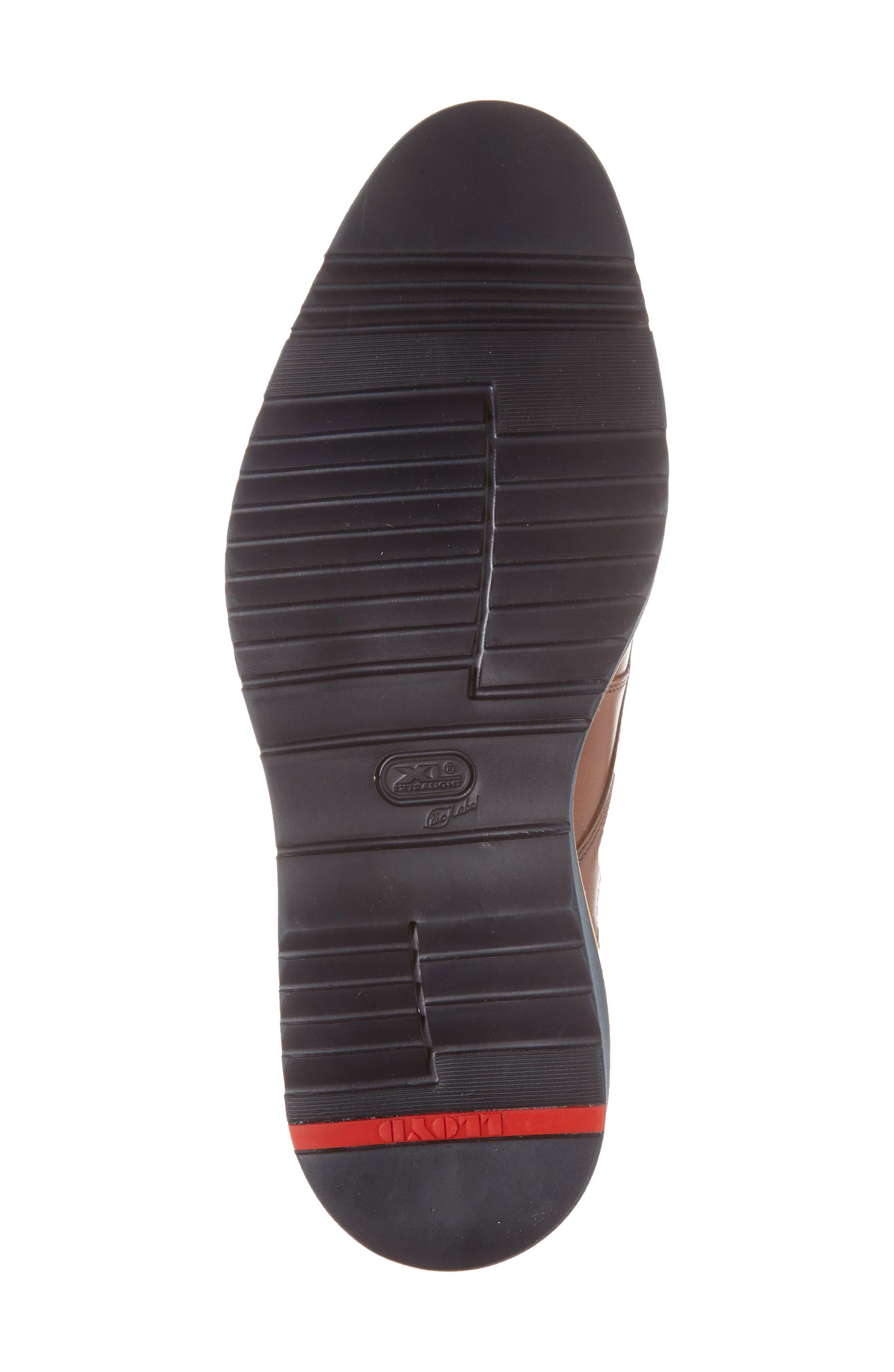 Kandy Plain Toe Derby,                             Alternate thumbnail 6, color,                             Cognac Leather