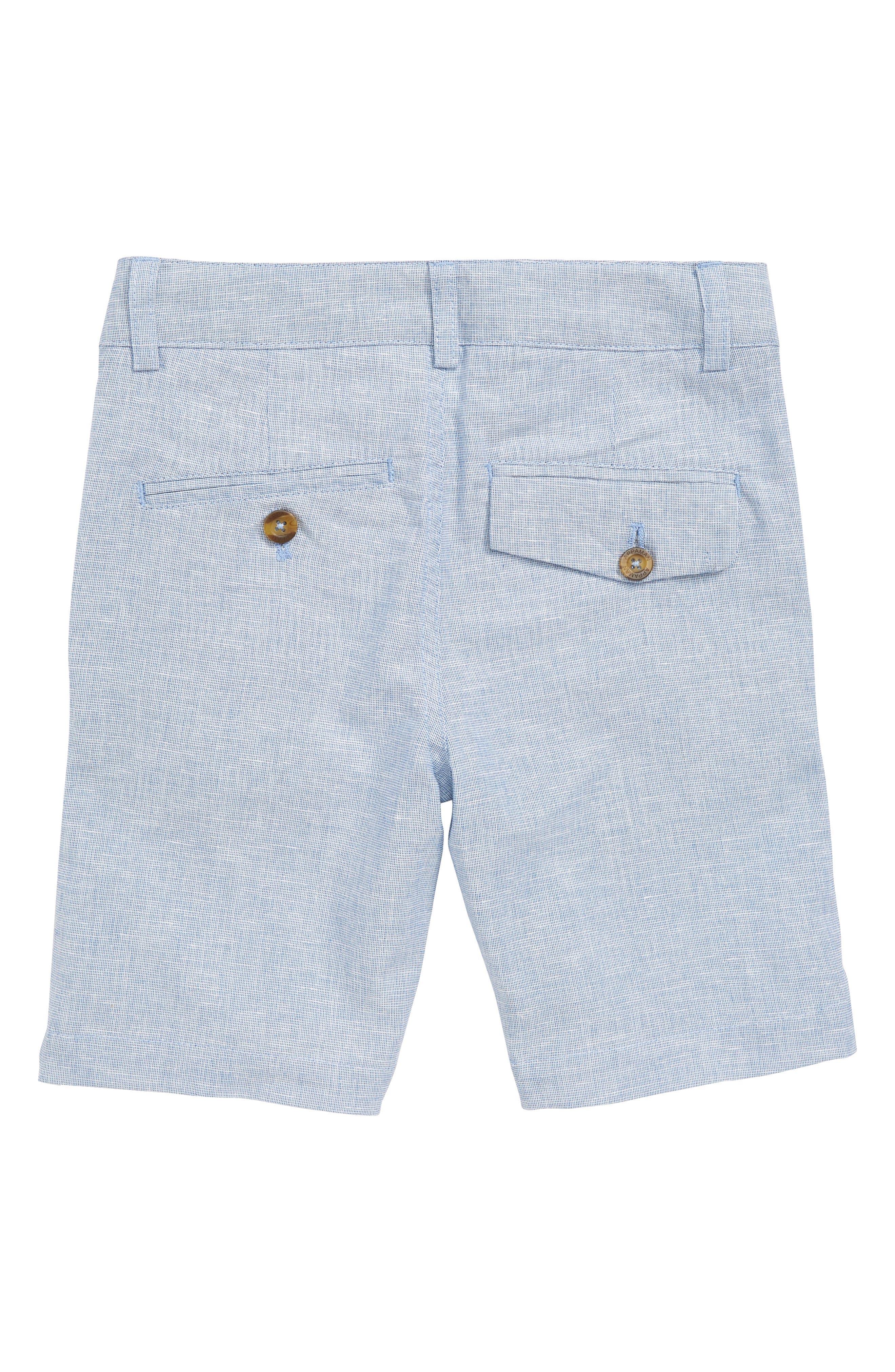 Trouser Shorts,                             Alternate thumbnail 2, color,                             Sky Club