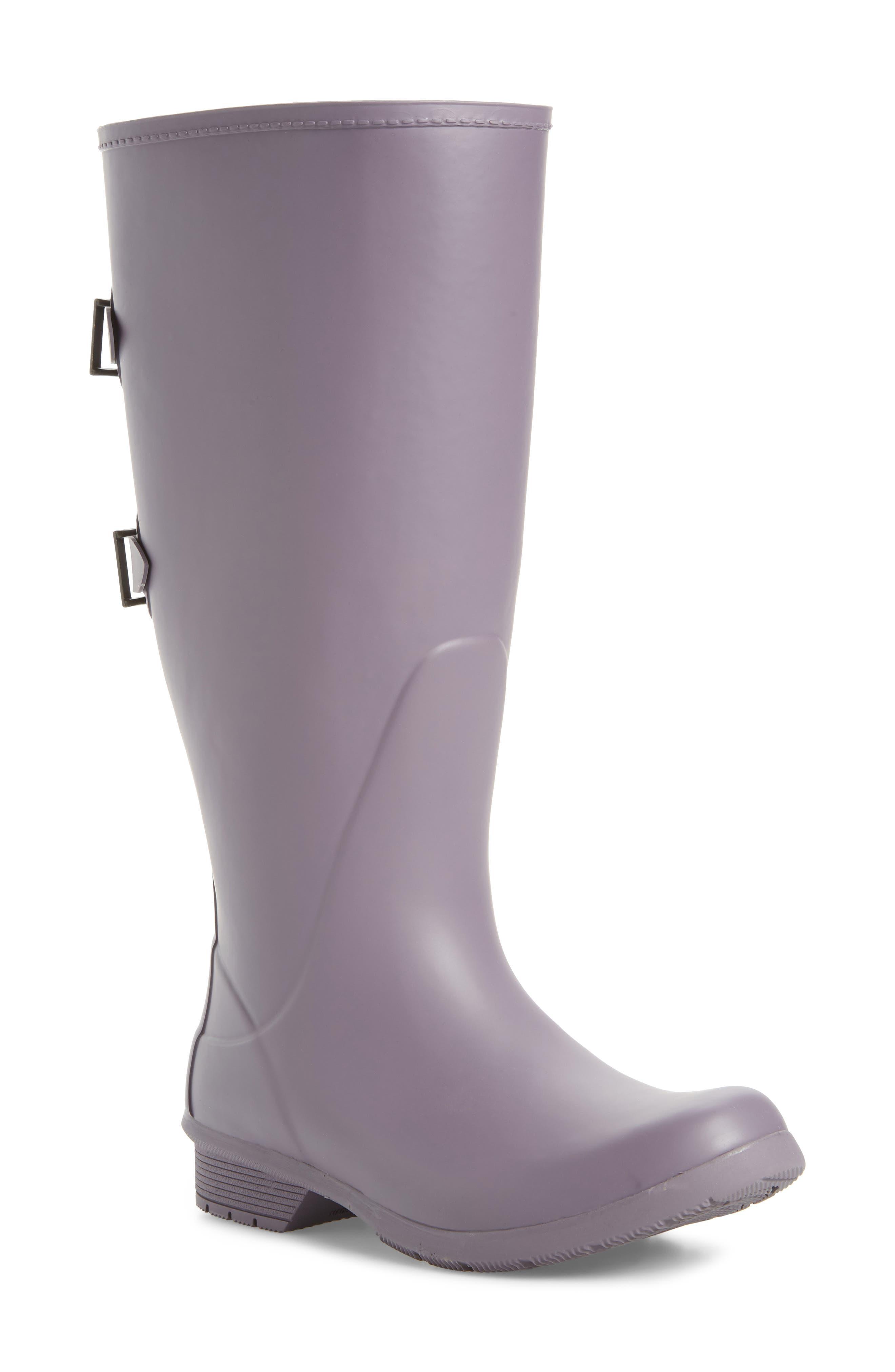 Versa Prima Tall Rain Boot,                         Main,                         color, Mulberry