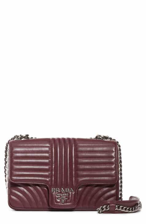 830240380f93 Prada Large Quilted Leather Shoulder Bag