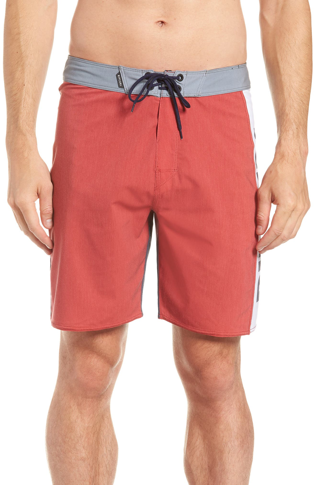 Mirage Owen Stretch Board Shorts,                         Main,                         color, Red