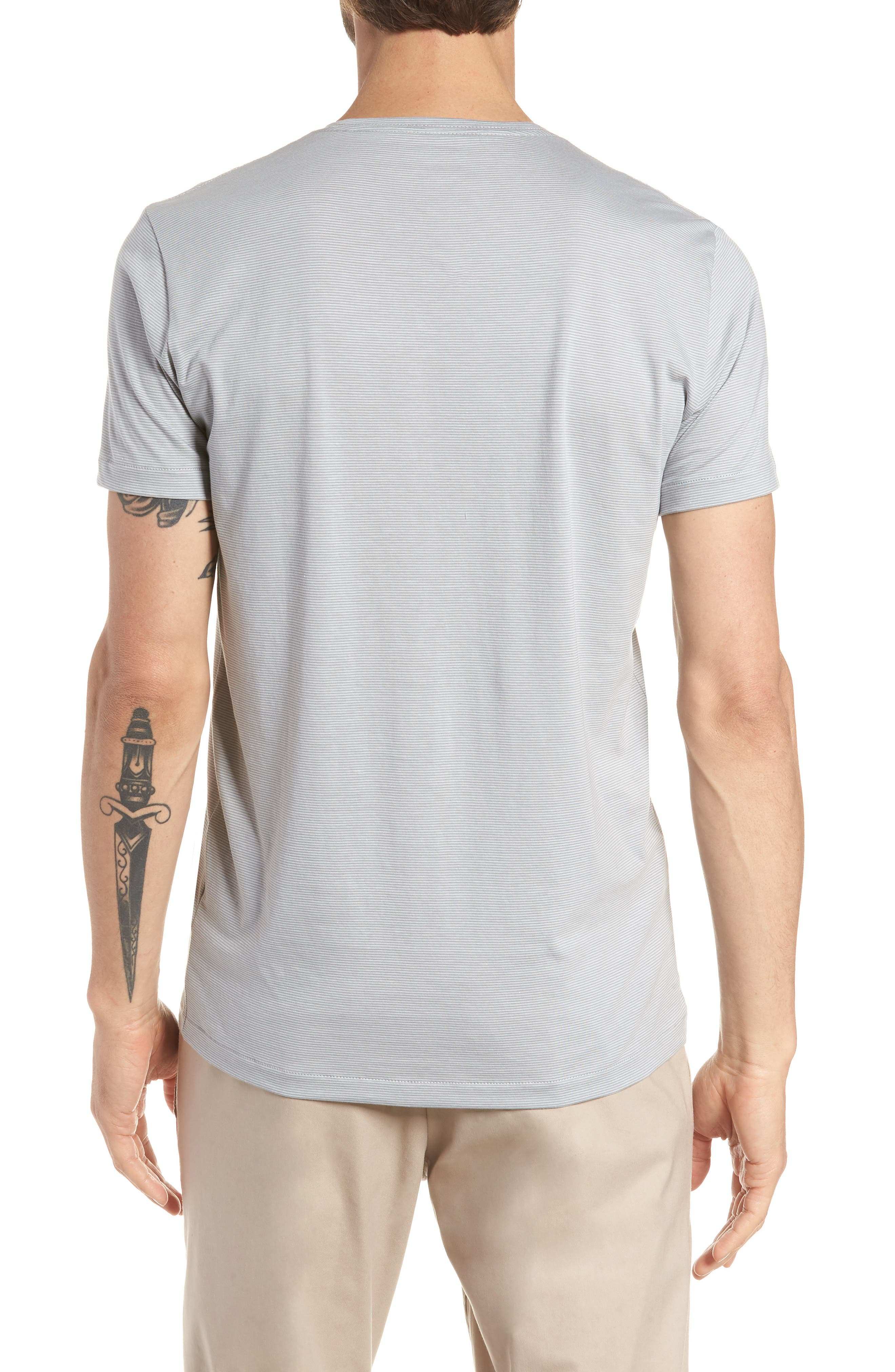 Refined Slim Fit T-Shirt,                             Alternate thumbnail 2, color,                             Echo Sterling