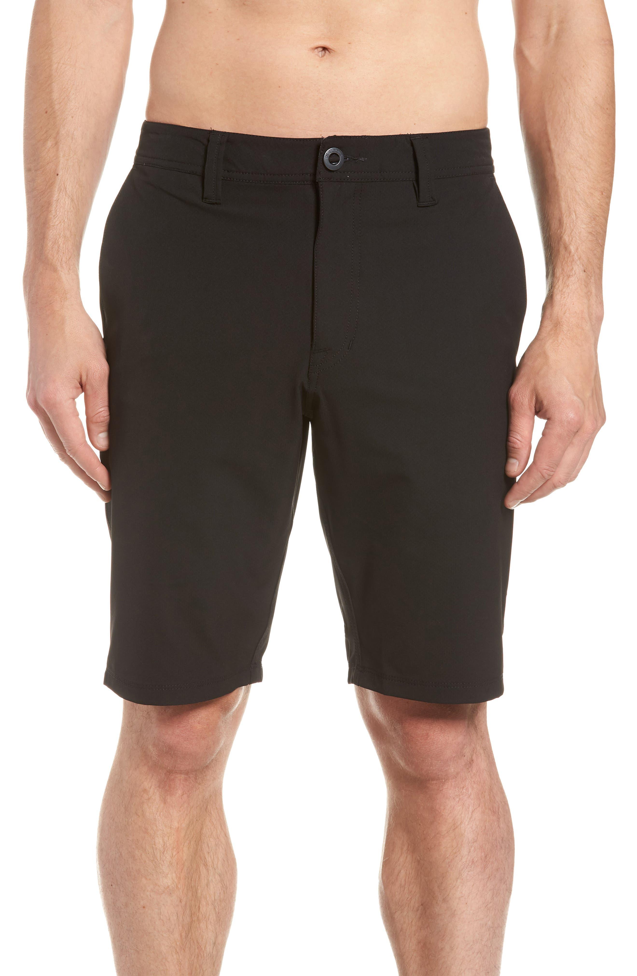 SNT Dry Hybrid Shorts,                             Alternate thumbnail 4, color,                             Black