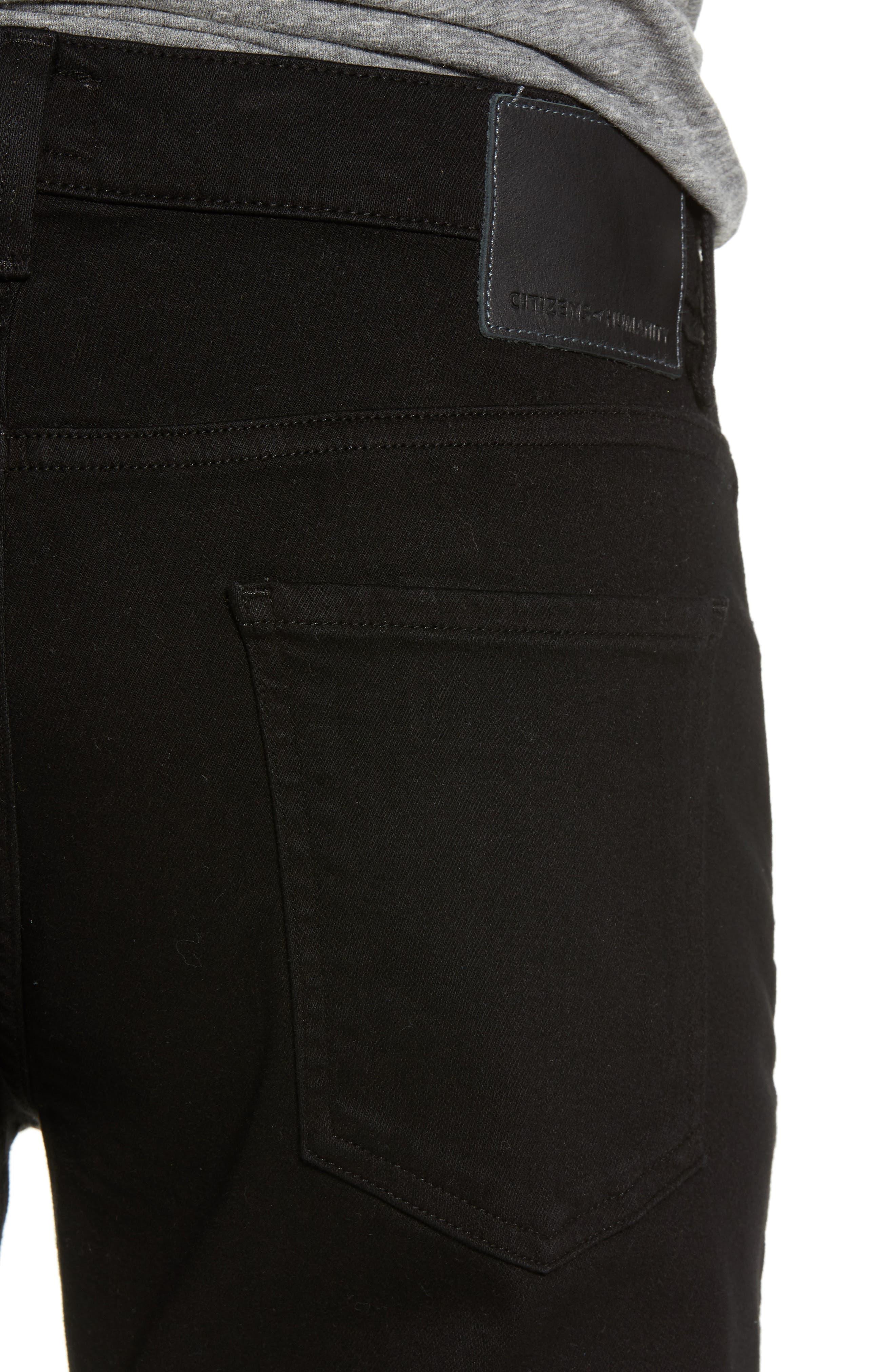 Sid Straight Leg Jeans,                             Alternate thumbnail 4, color,                             Parker