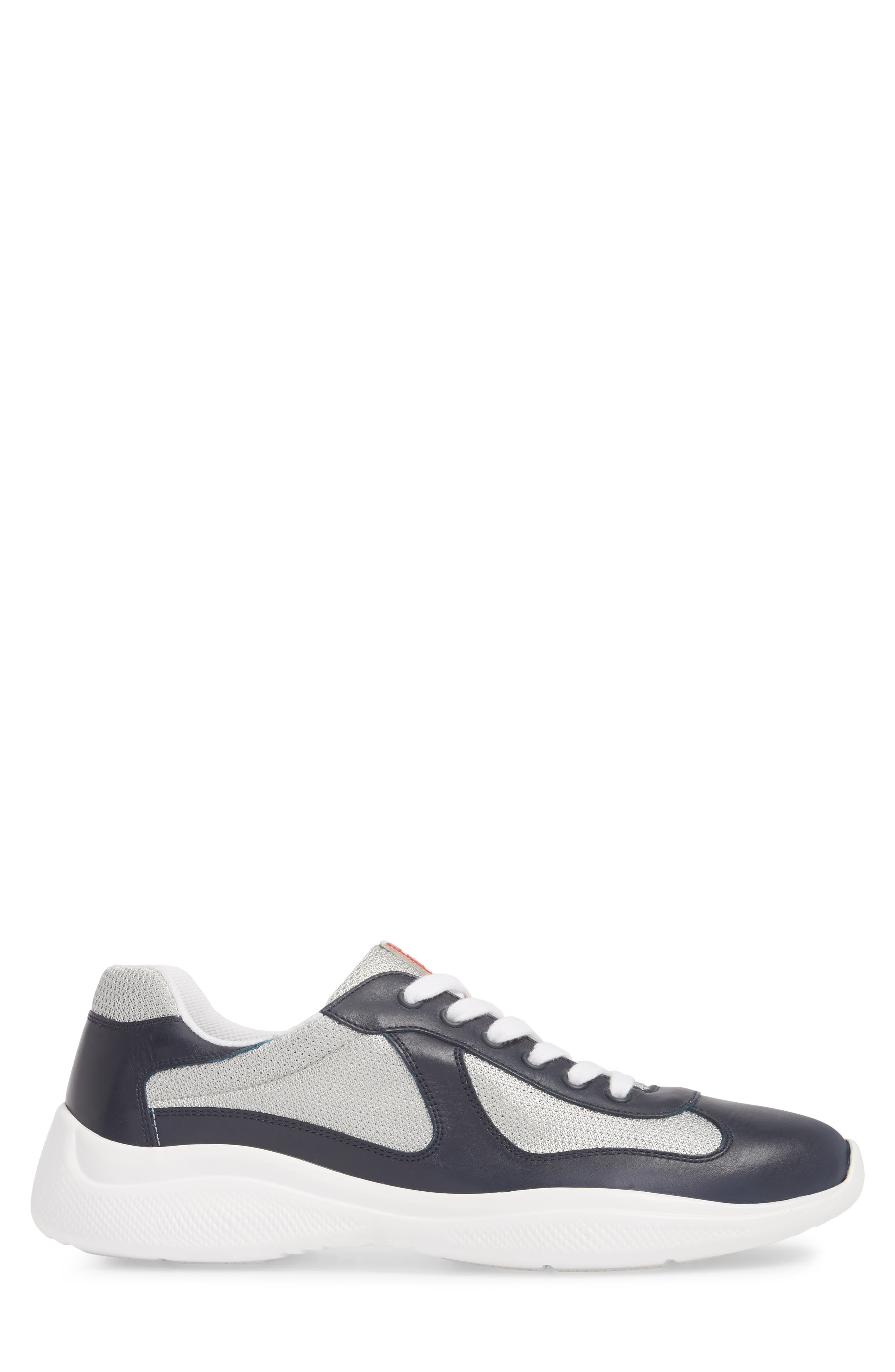 'Punta Ala' Sneaker,                             Alternate thumbnail 3, color,                             Baltic Blue/ Argento