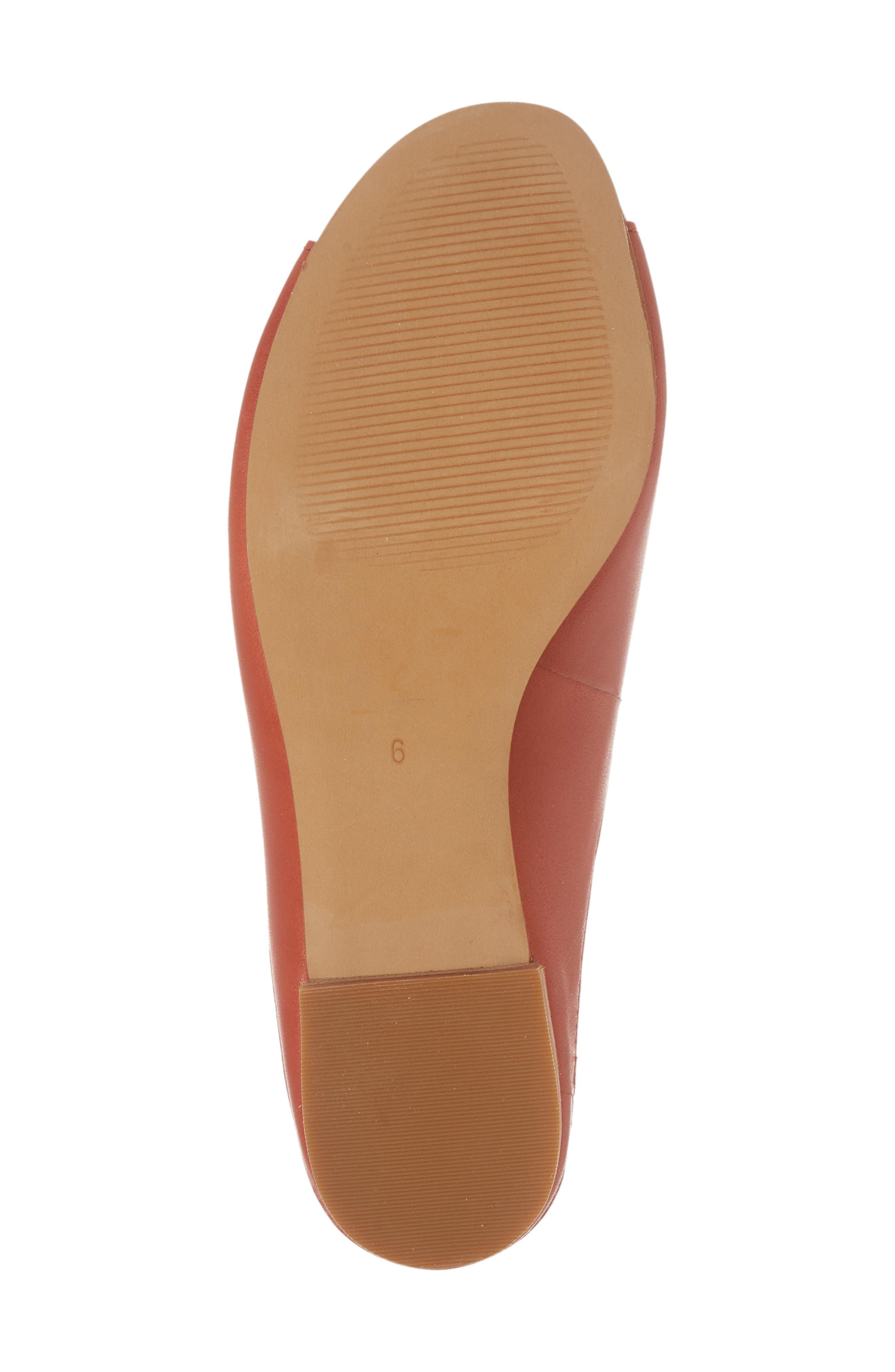 Tavi Slide Sandal,                             Alternate thumbnail 6, color,                             Dark Cinnabar Leather
