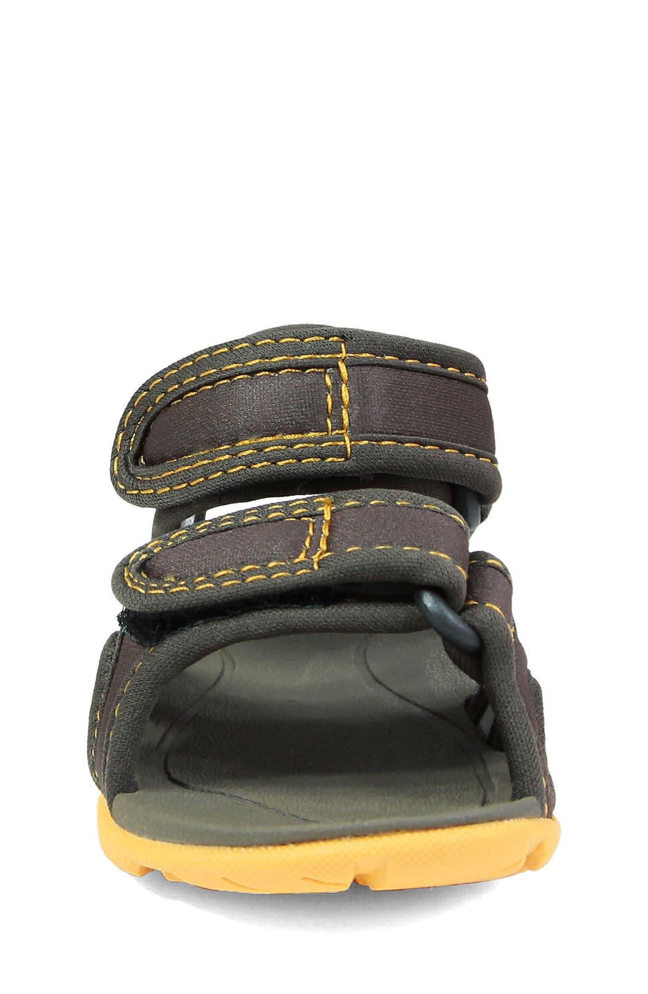 Whitefish Waterproof Sandal,                             Alternate thumbnail 4, color,                             Olive Multi