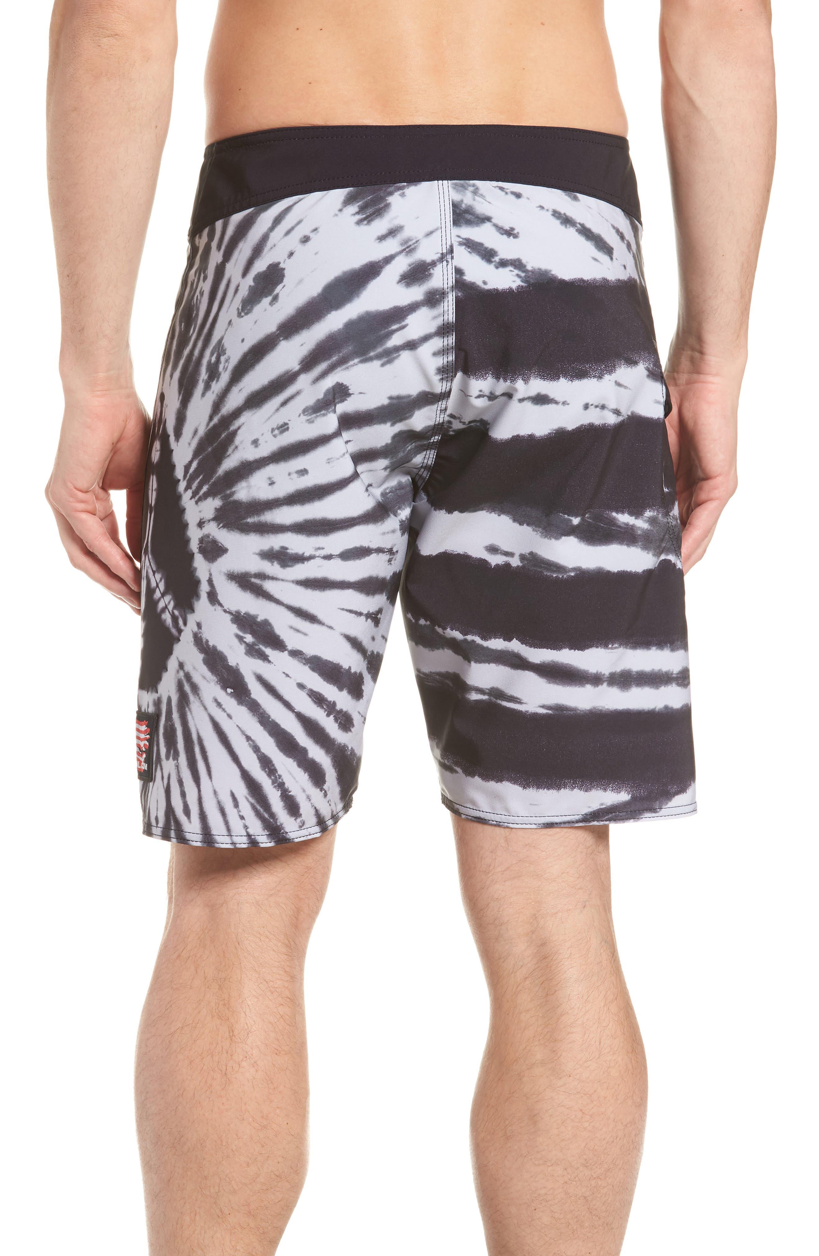 Peace Stoney Board Shorts,                             Alternate thumbnail 2, color,                             Grey