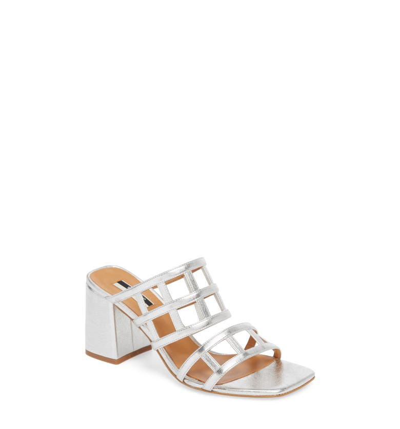Eid Night Caged Slide Sandal