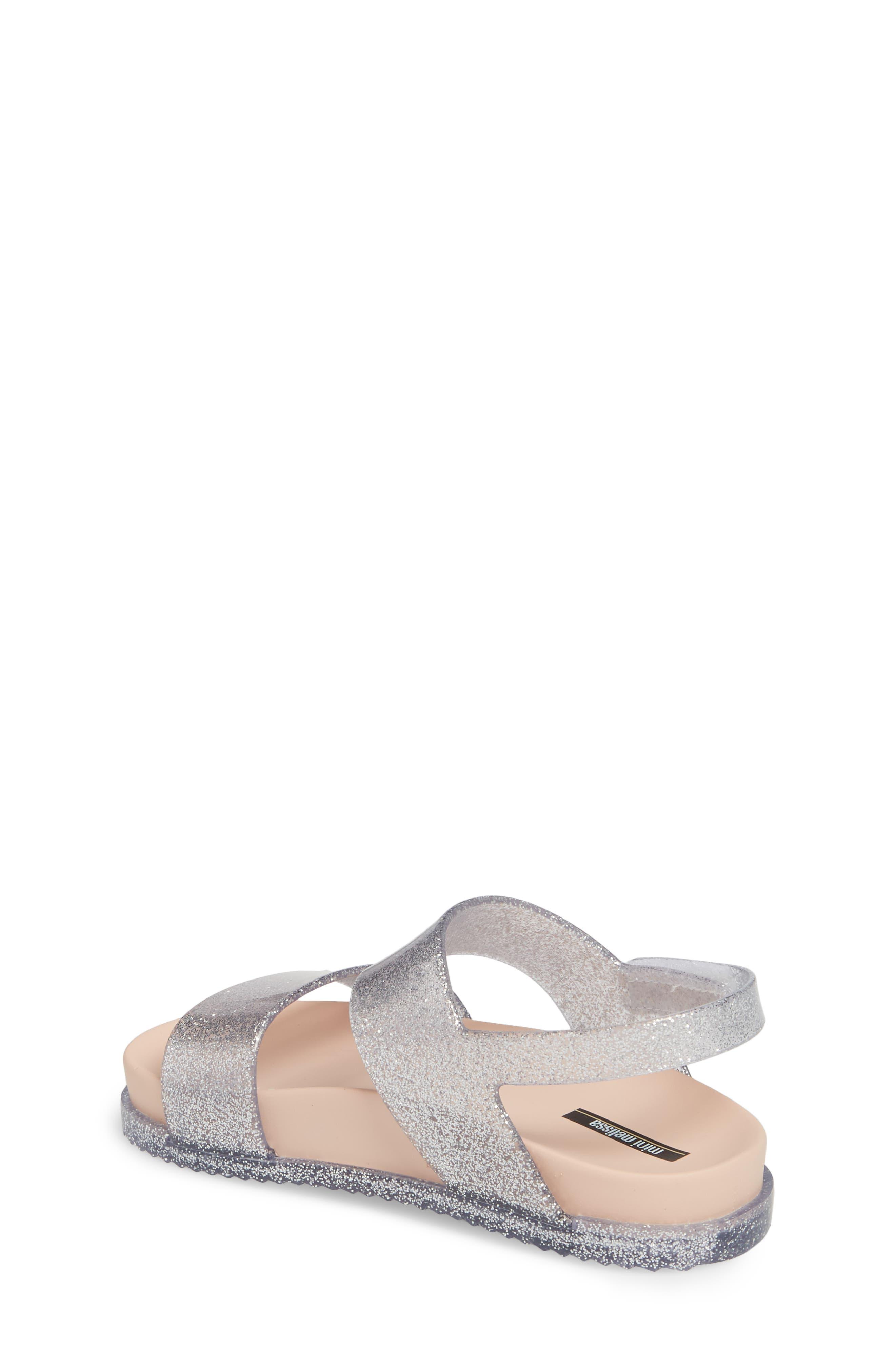 Glittery Cosmic Sandal,                             Alternate thumbnail 2, color,                             Pink Silver Sparkle