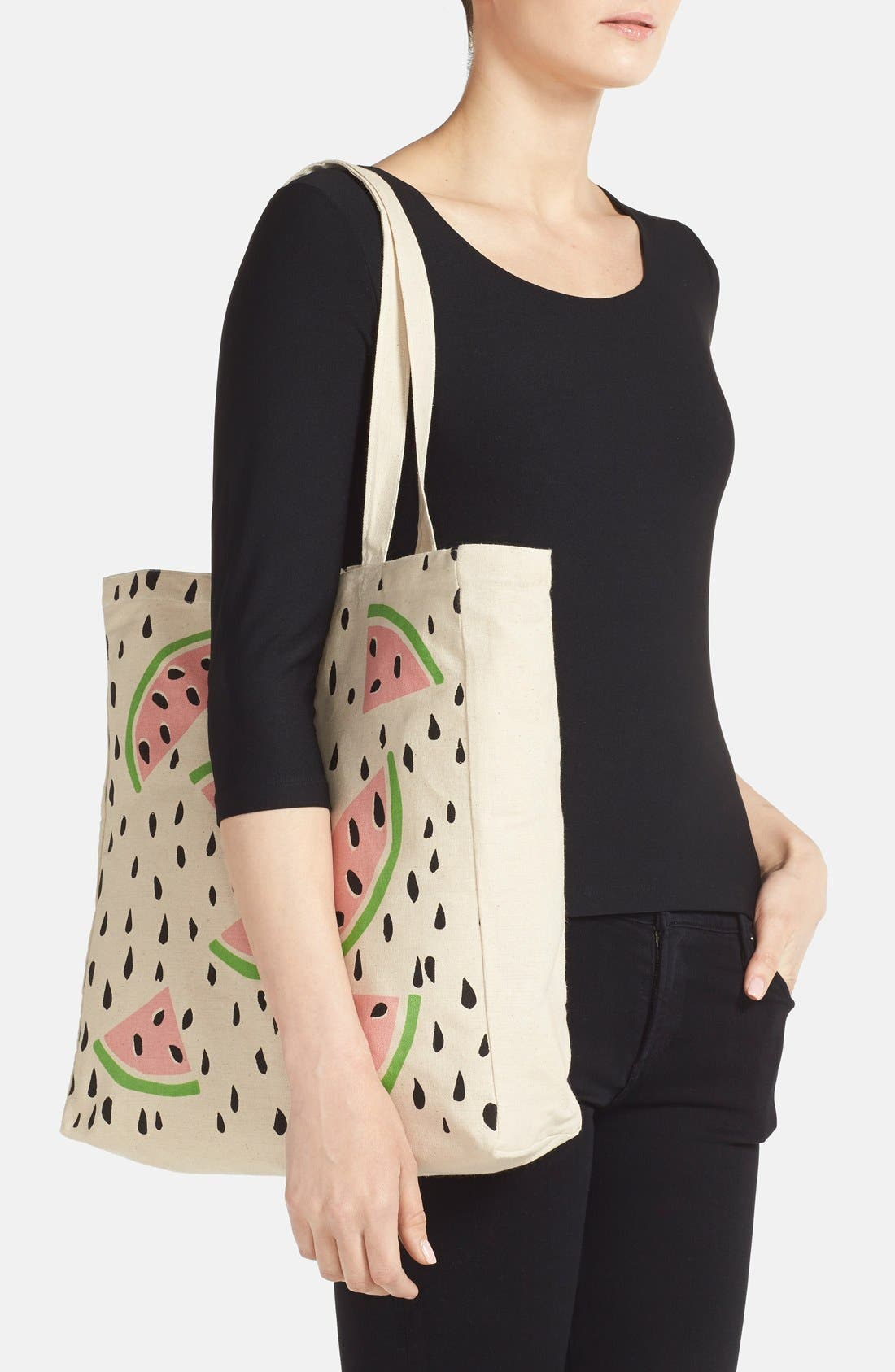 Alternate Image 2  - Tri-Coastal Design 'Watermelon' Tote