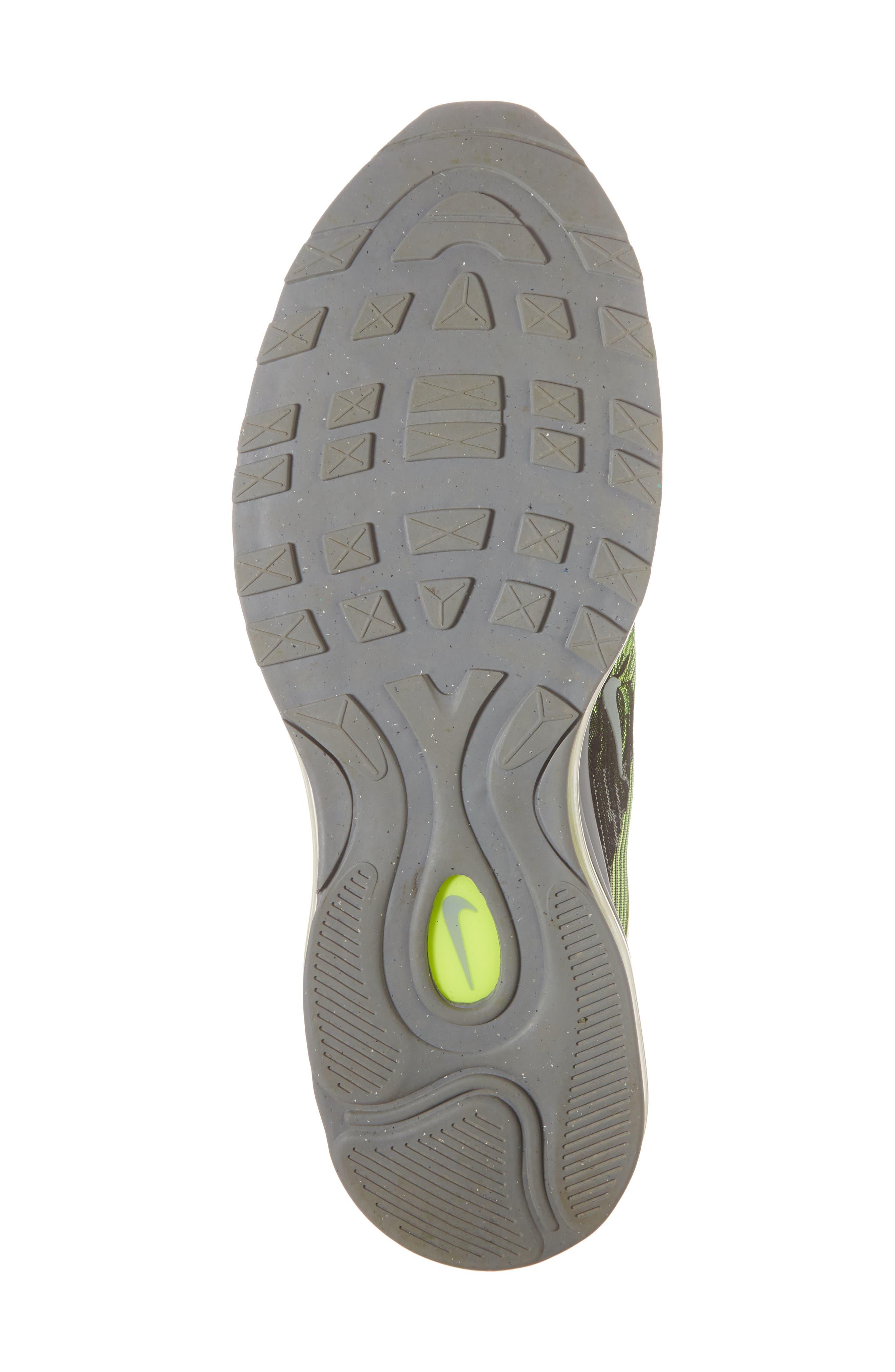 Air Max 97 Ultra '17 Sneaker,                             Alternate thumbnail 6, color,                             Volt/ Mica Green/ Cool Grey