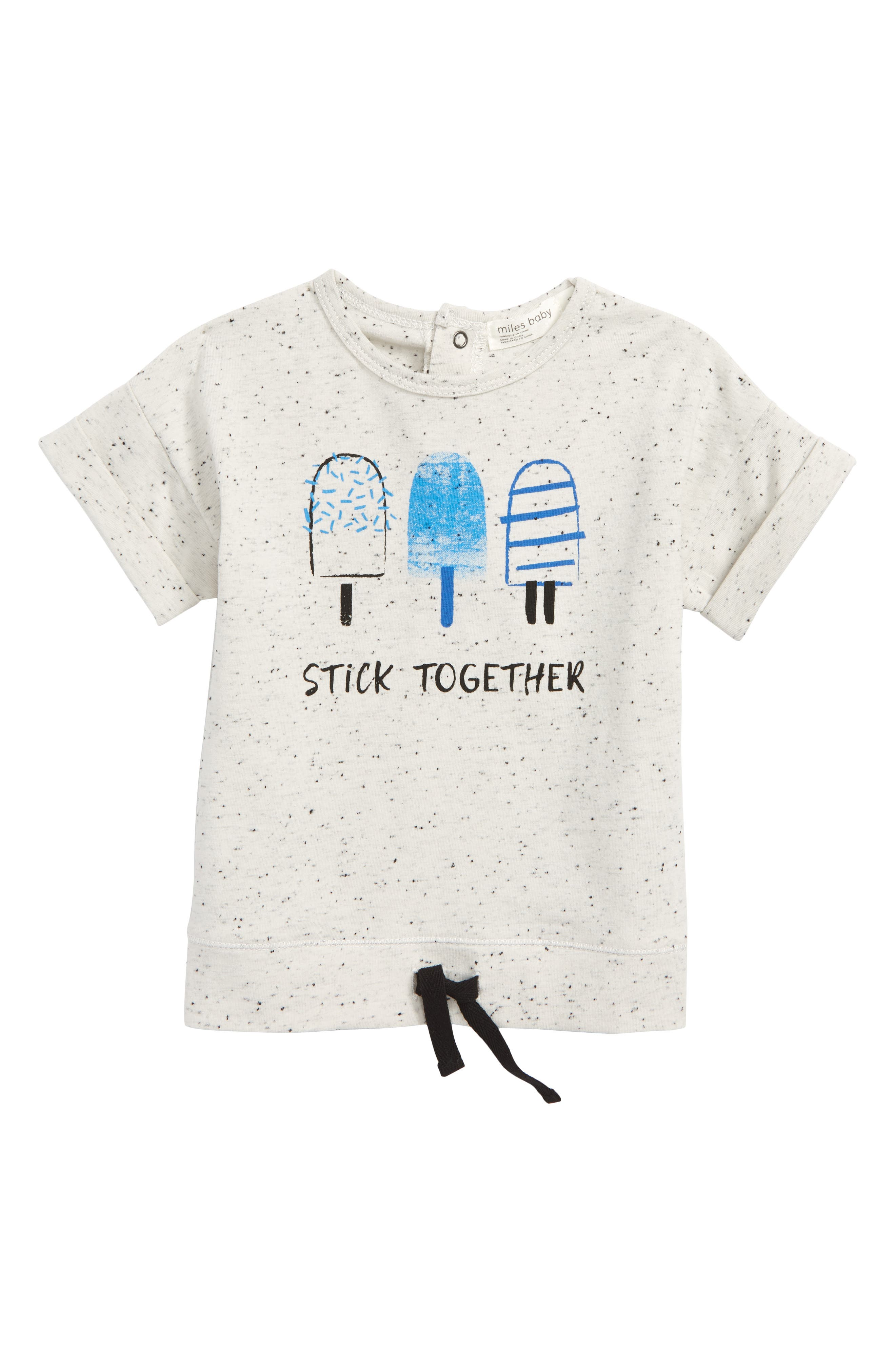 Stick Together Tee,                         Main,                         color, Off White