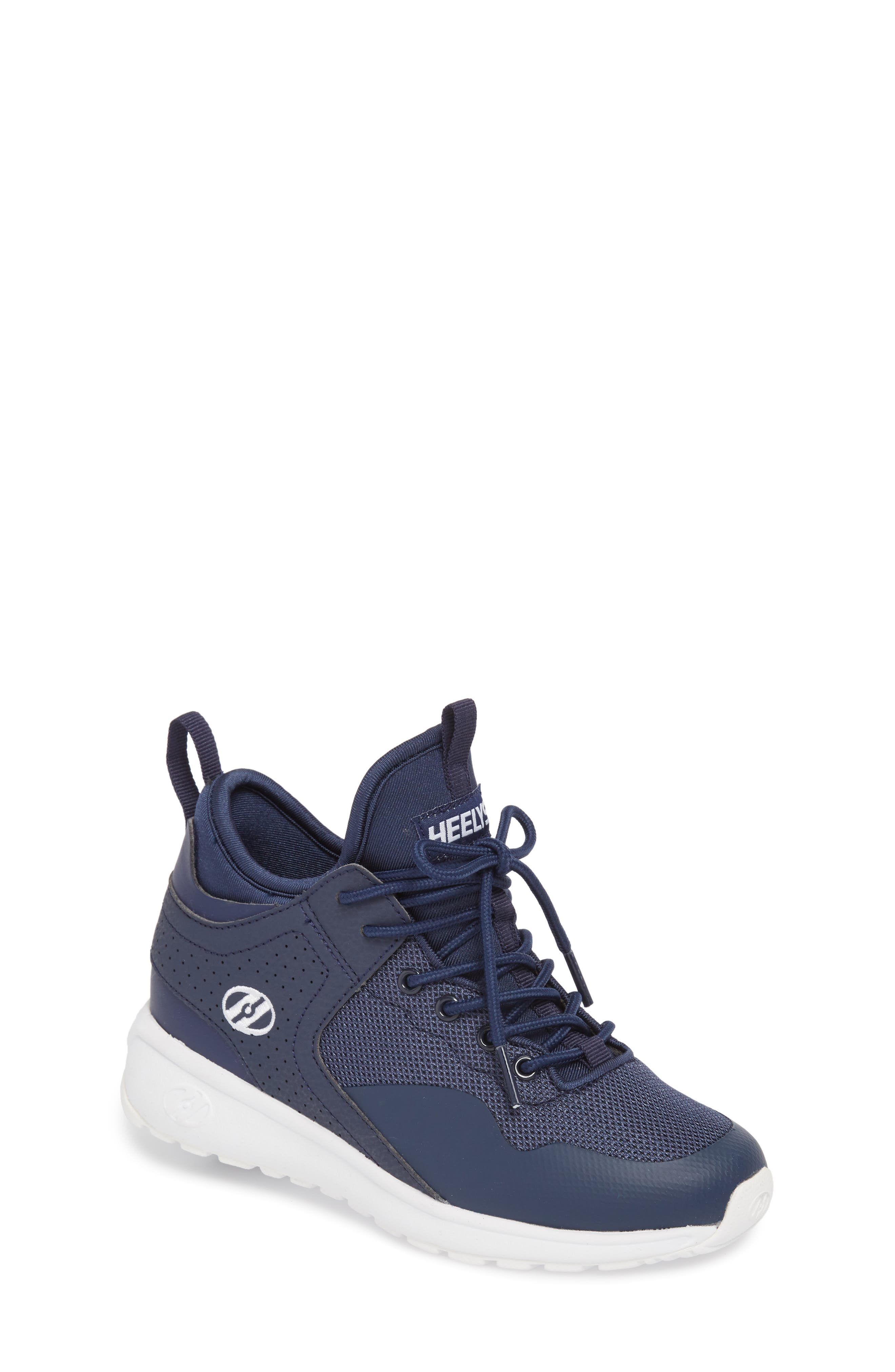 Piper Sneaker,                         Main,                         color, Navy/ White