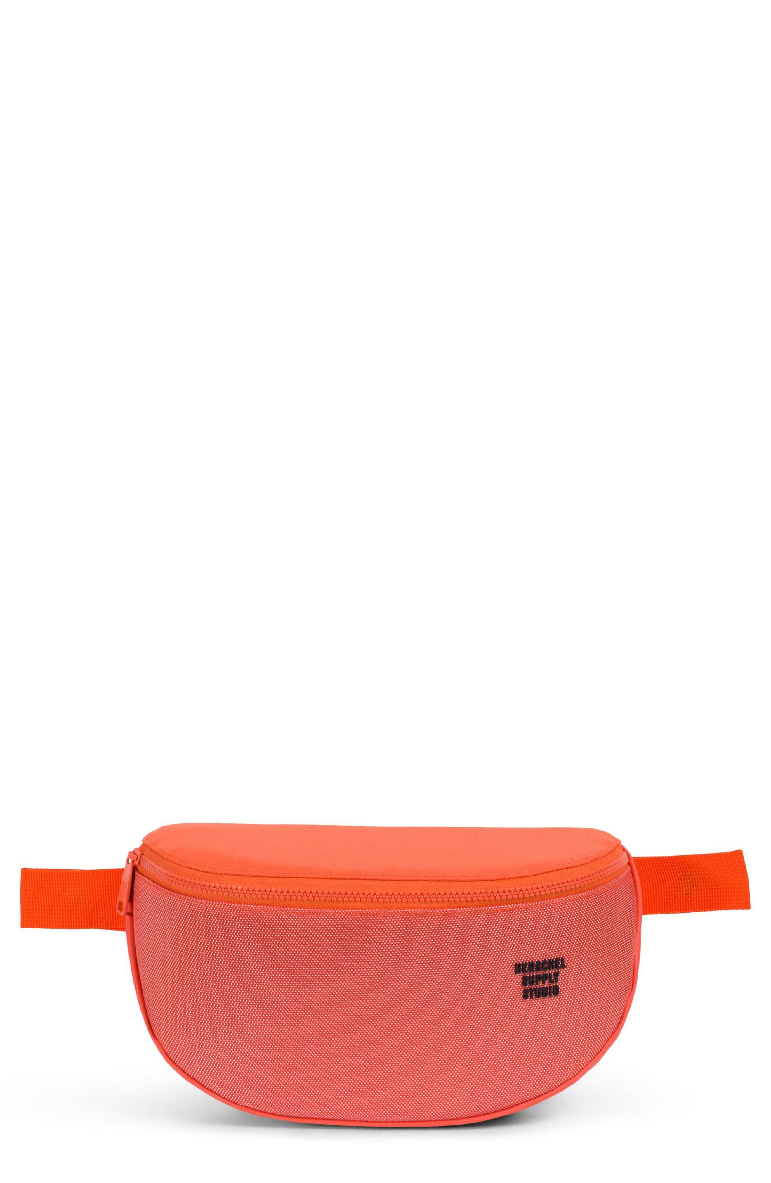 Sixteen Studio Belt Bag,                             Main thumbnail 1, color,                             Vermillion Orange