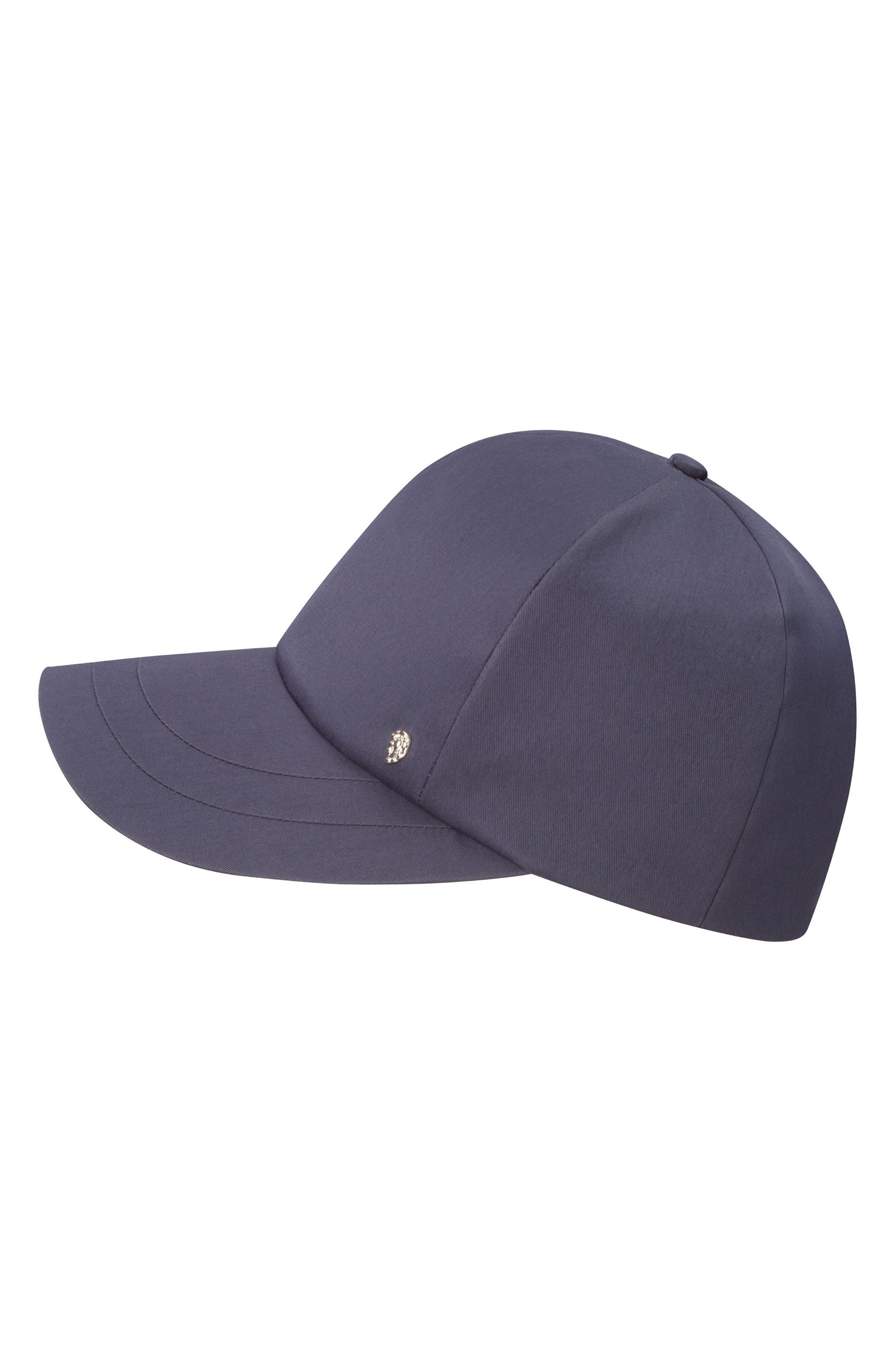 HELEN KAMINSKI WATER RESISTANT BASEBALL CAP - BLUE