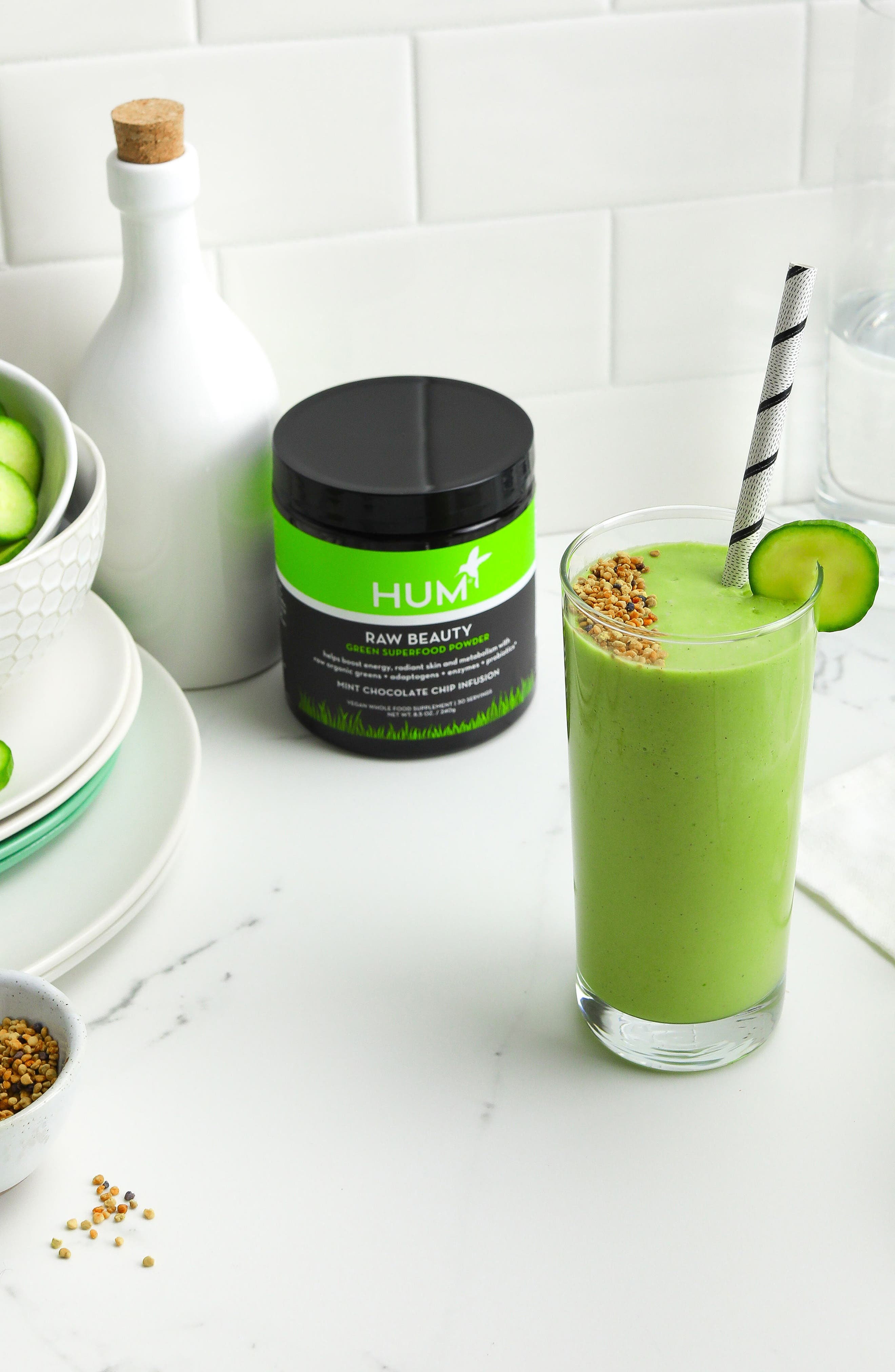 Raw Beauty Skin & Energy Green Superfood Powder,                             Alternate thumbnail 7, color,                             No Color