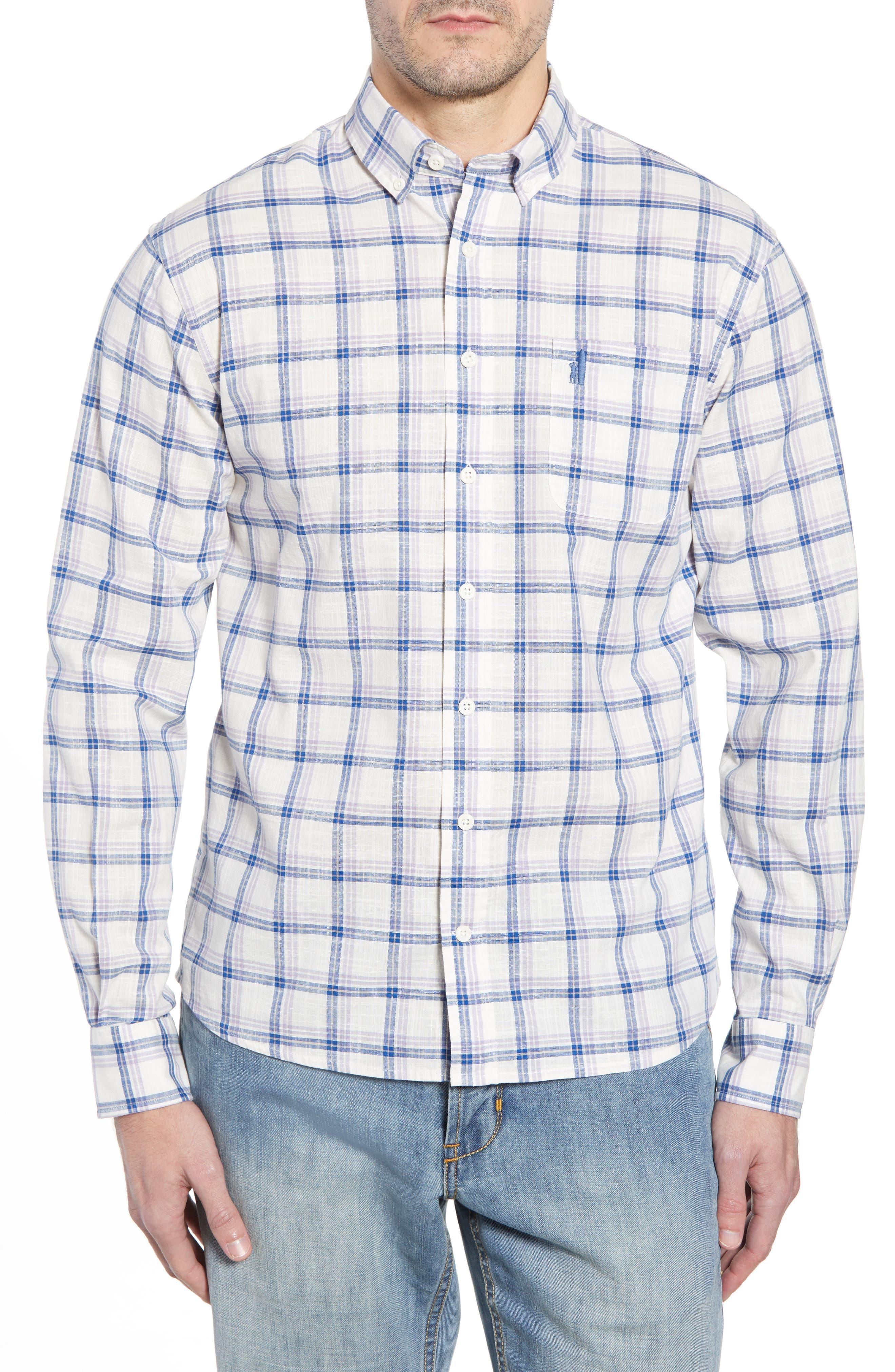 Davis Regular Fit Sport Shirt,                             Main thumbnail 1, color,                             Lilac