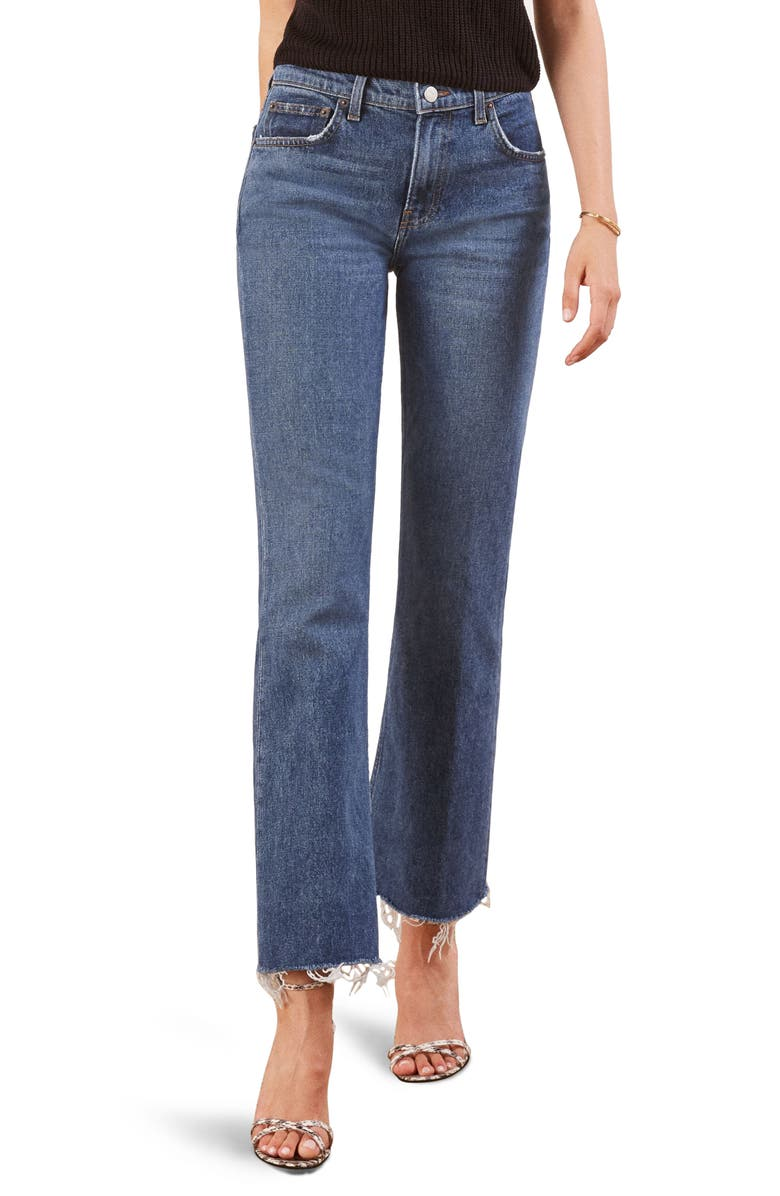 Crop Flood Jeans